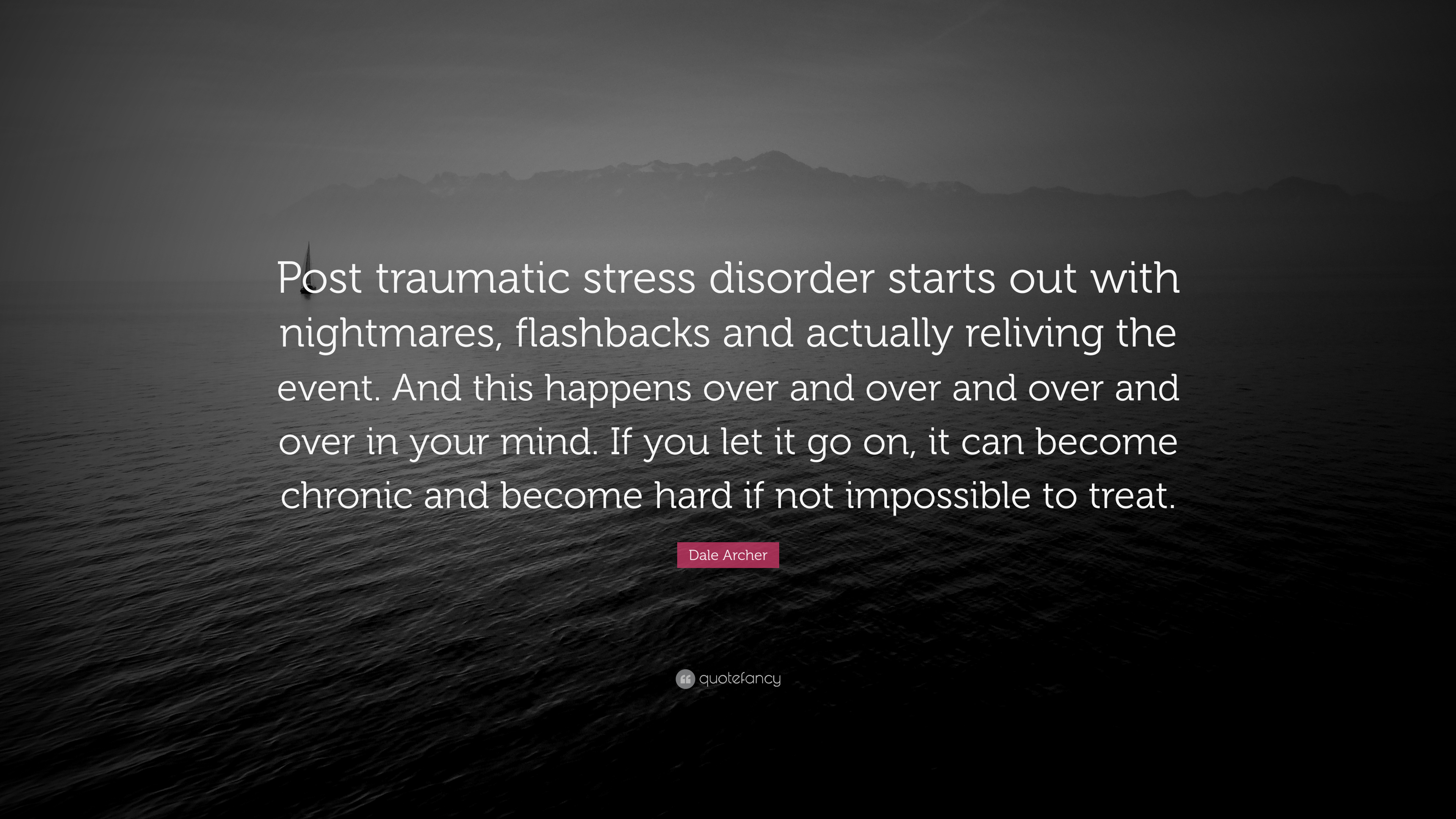 """reliving the nightmare post traumatic stress disorder The concept of post-traumatic stress disorder (ptsd) has been with us for centuries but has had many names it was """"shell shock"""" and """"battle fatigue"""" before it was ptsd and is now known to."""