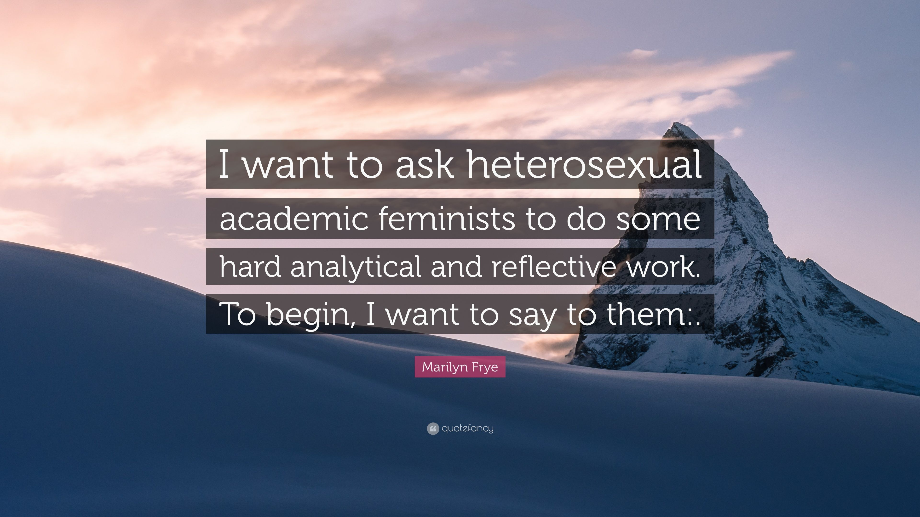 I want to be heterosexual