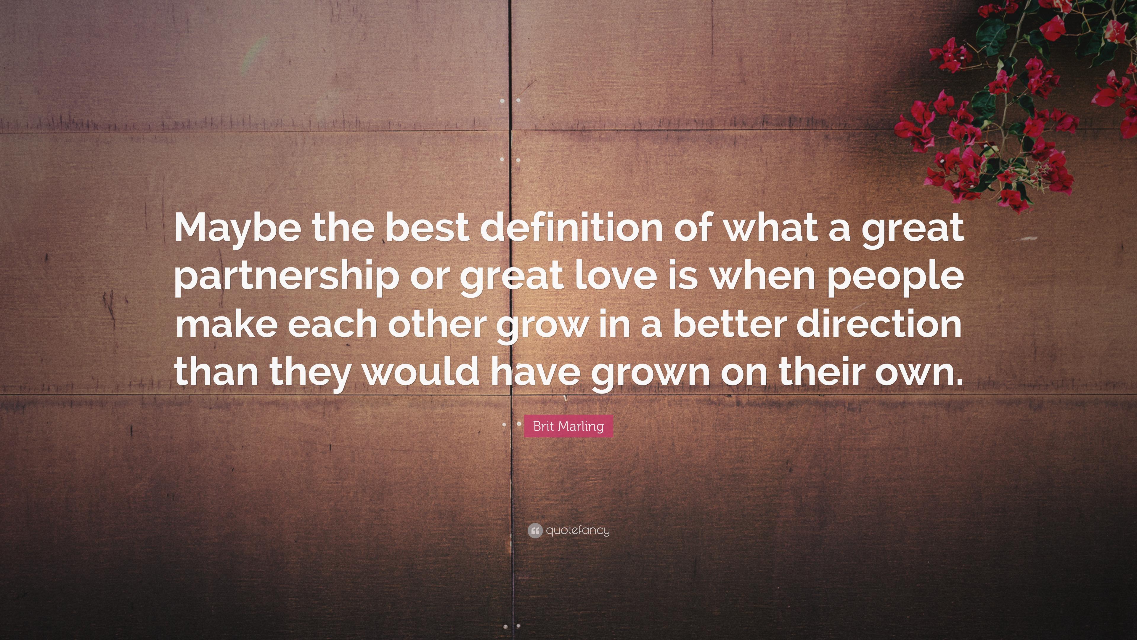 best definition