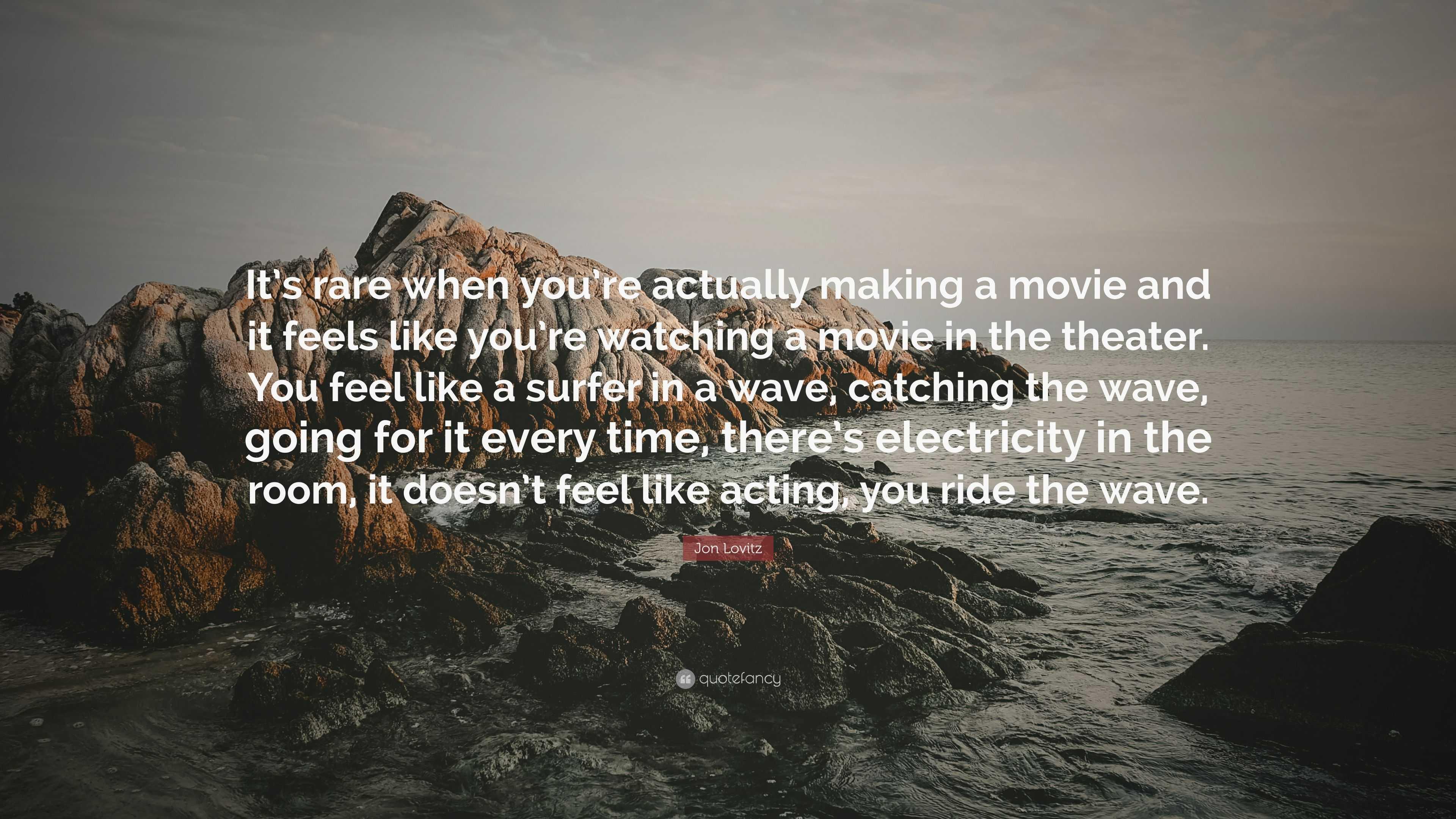 "Jon Lovitz Quote: ""It's rare when you're actually making a"