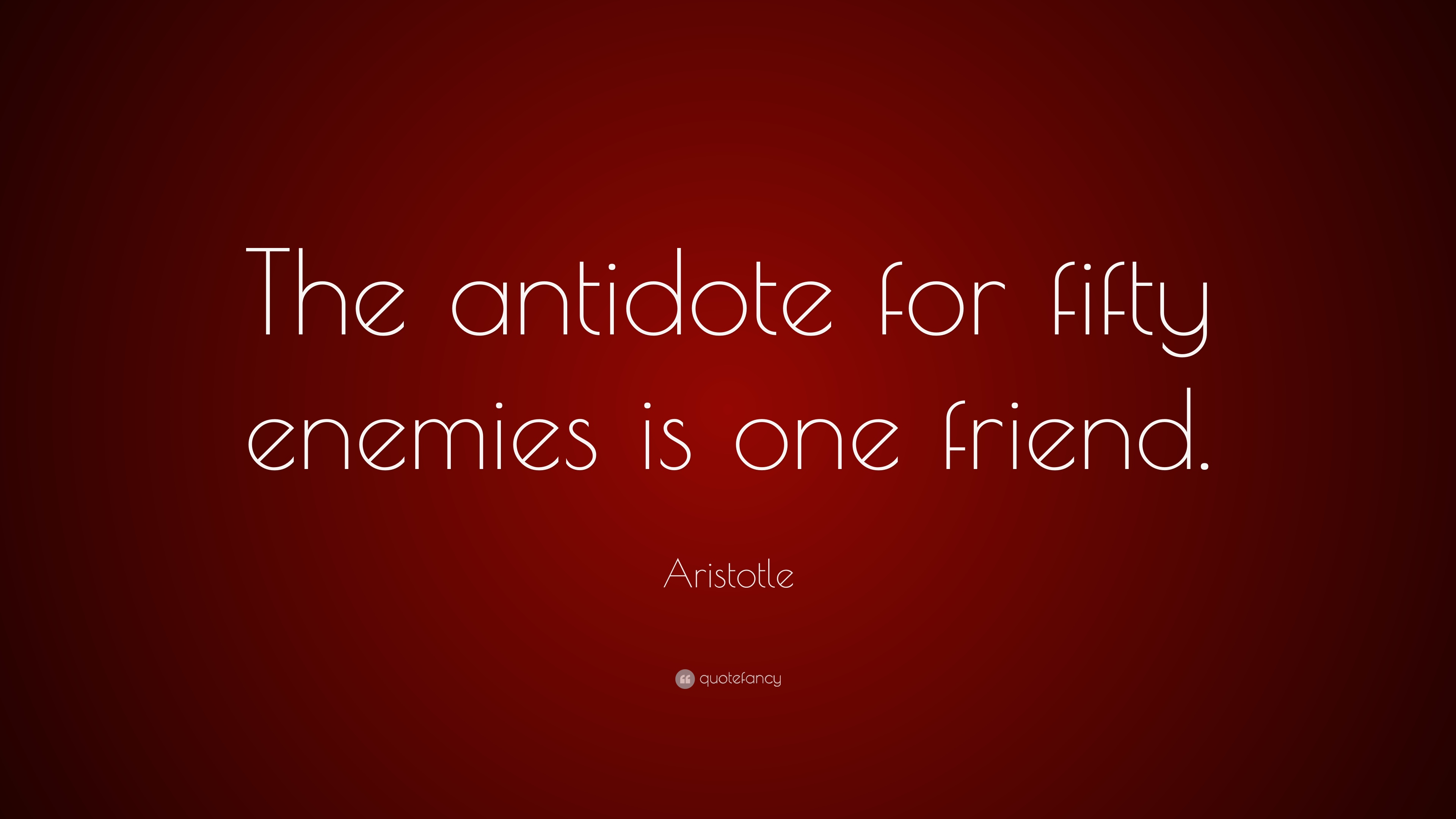 Aristotle Quote About Friends