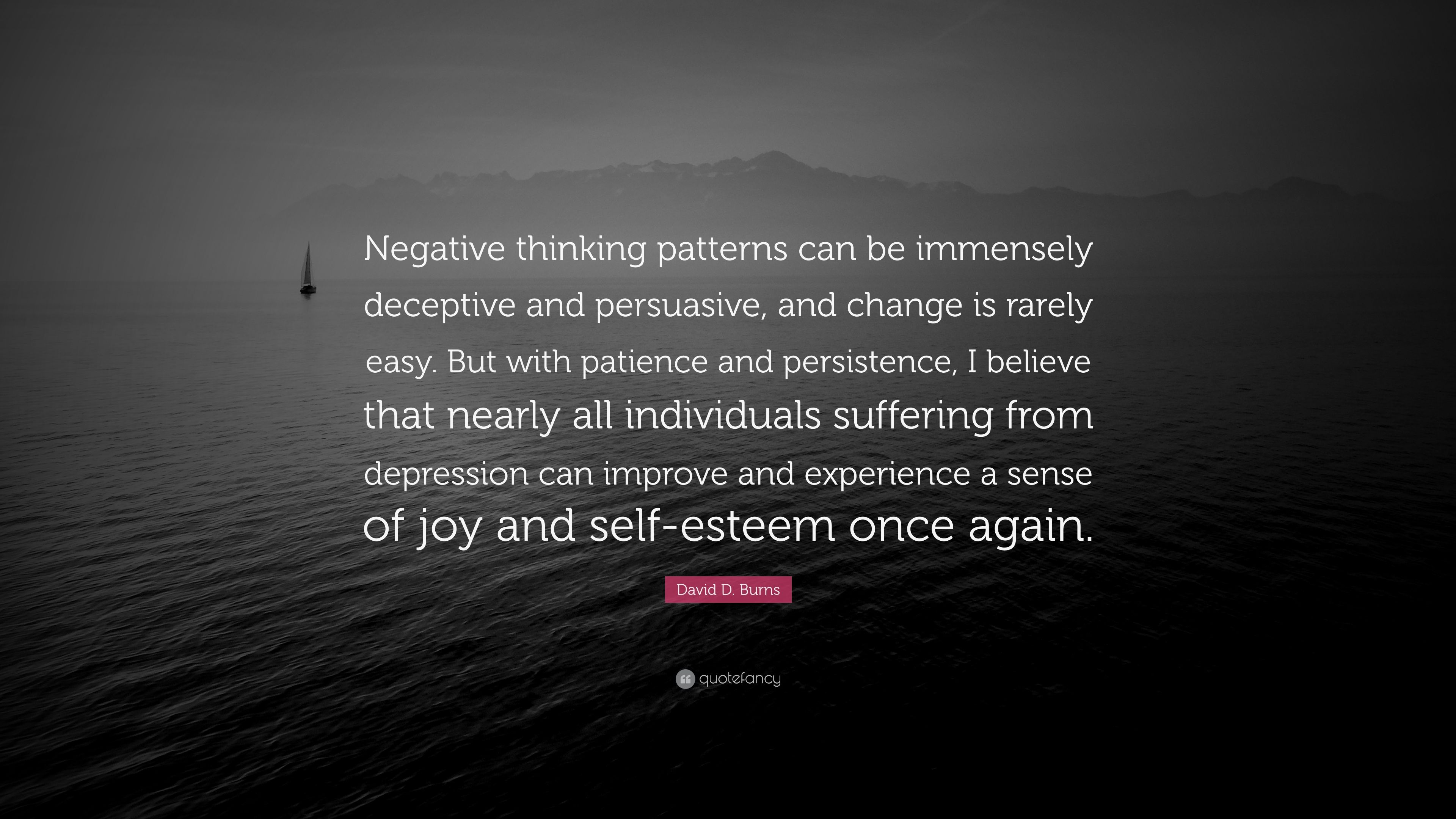 Negative Thinking Patterns Interesting Inspiration