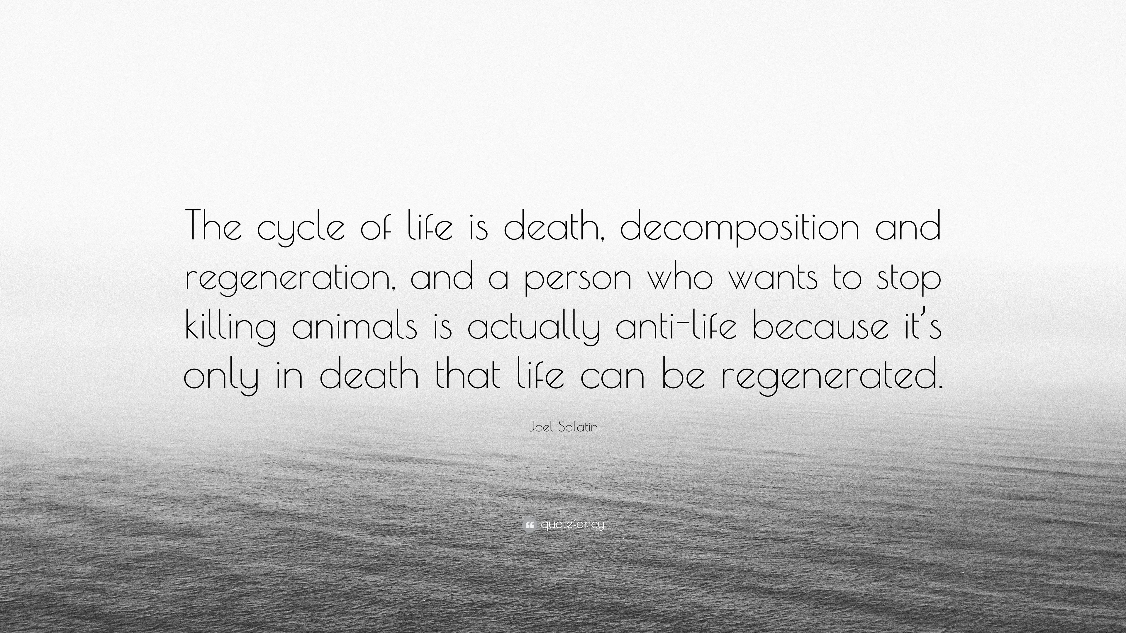 Latest Quotes About Cycle Of Life And Death Squidhomebiz