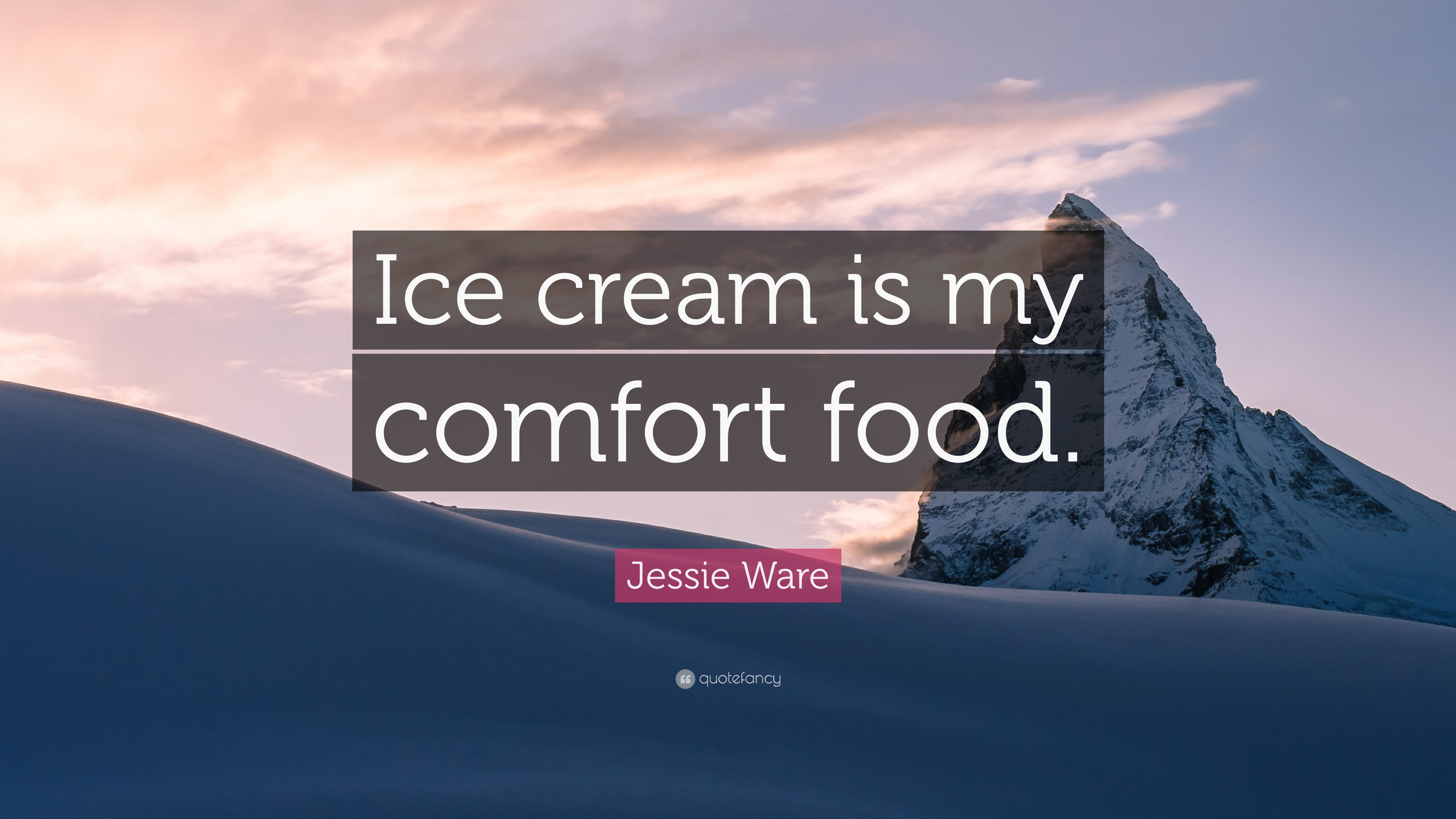 Jessie Ware Quote Ice Cream Is My Comfort Food 7 Wallpapers
