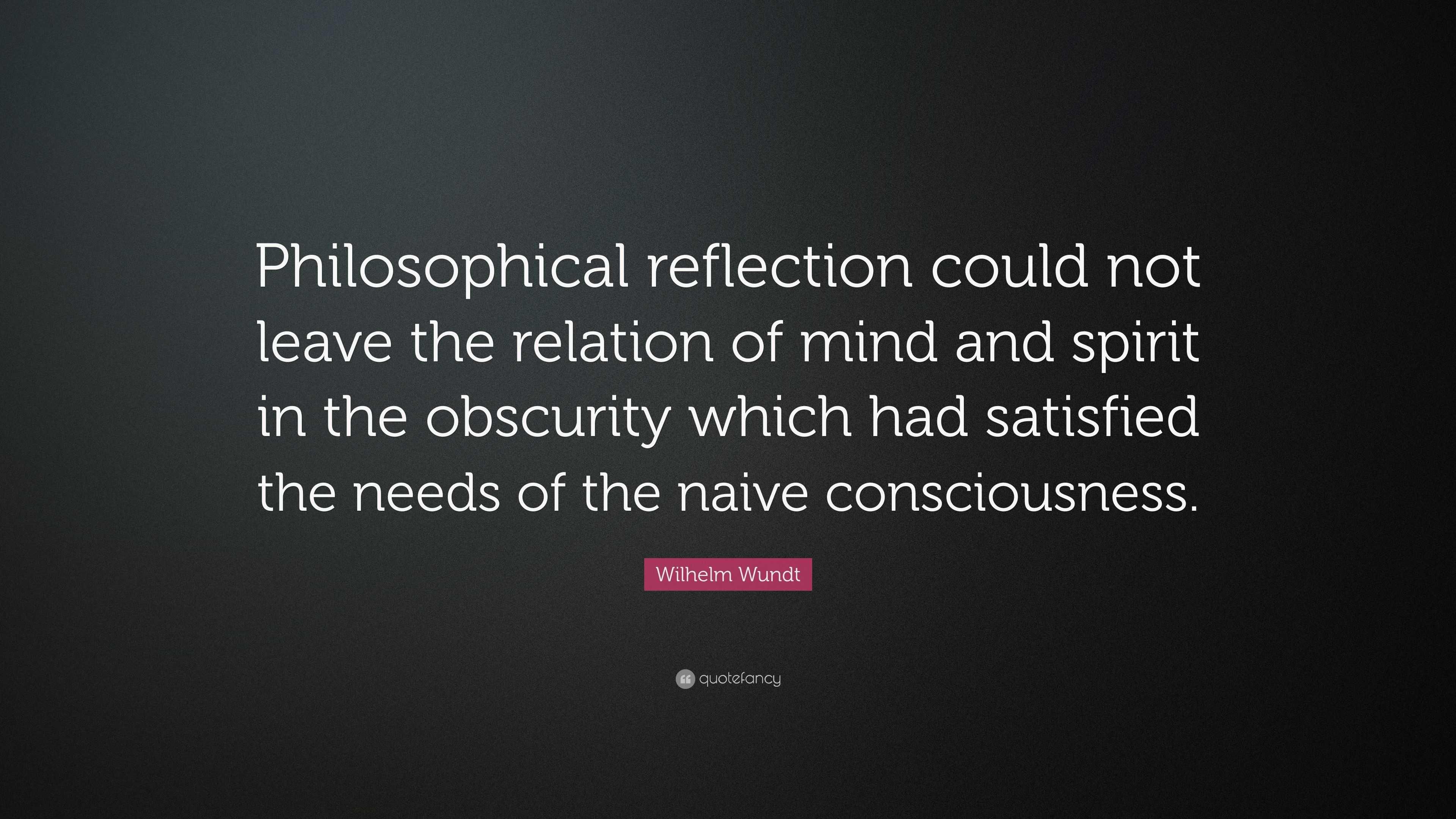 wilhelm wundt philosophy