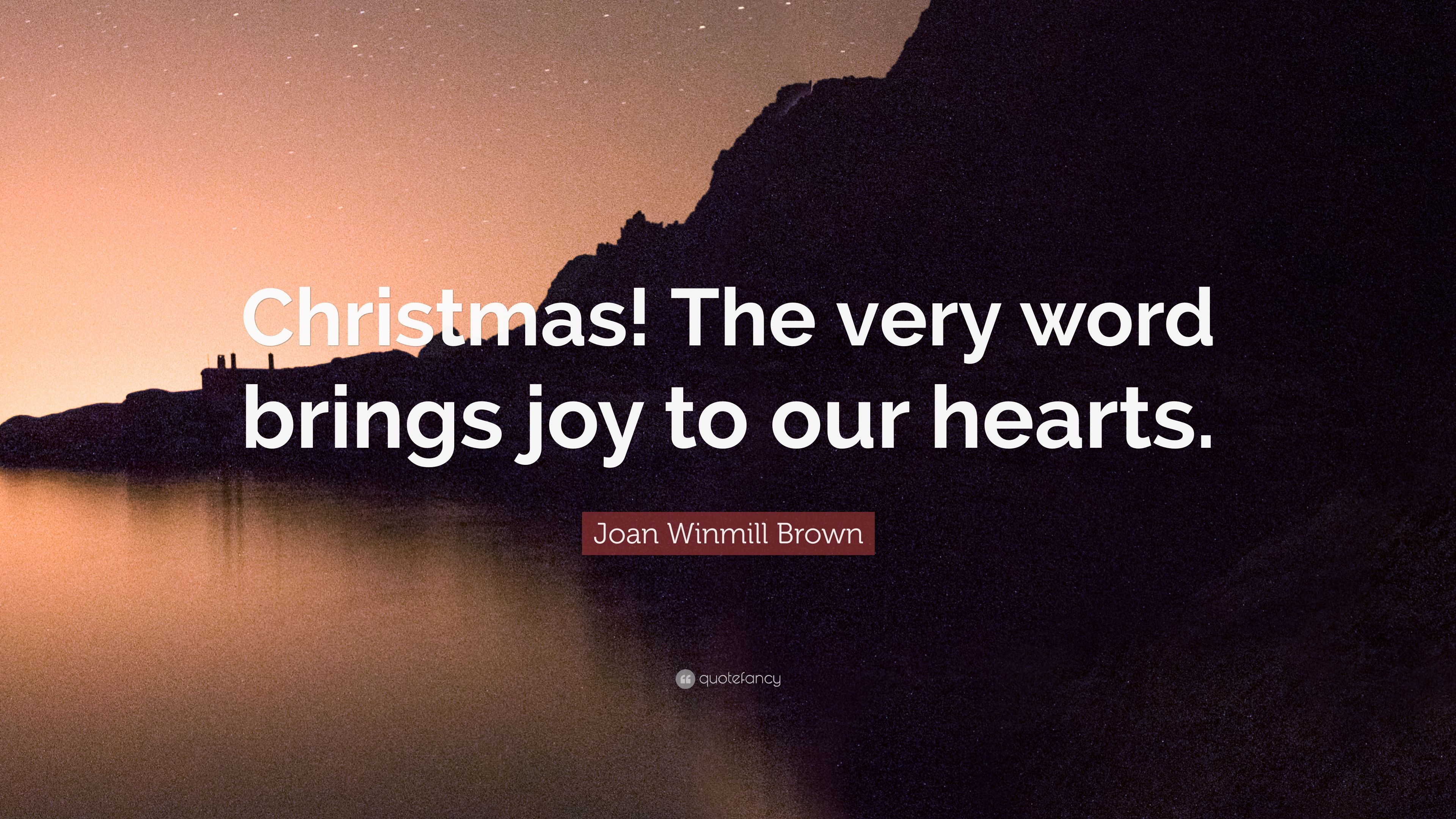 christmas the very word brings joy essay