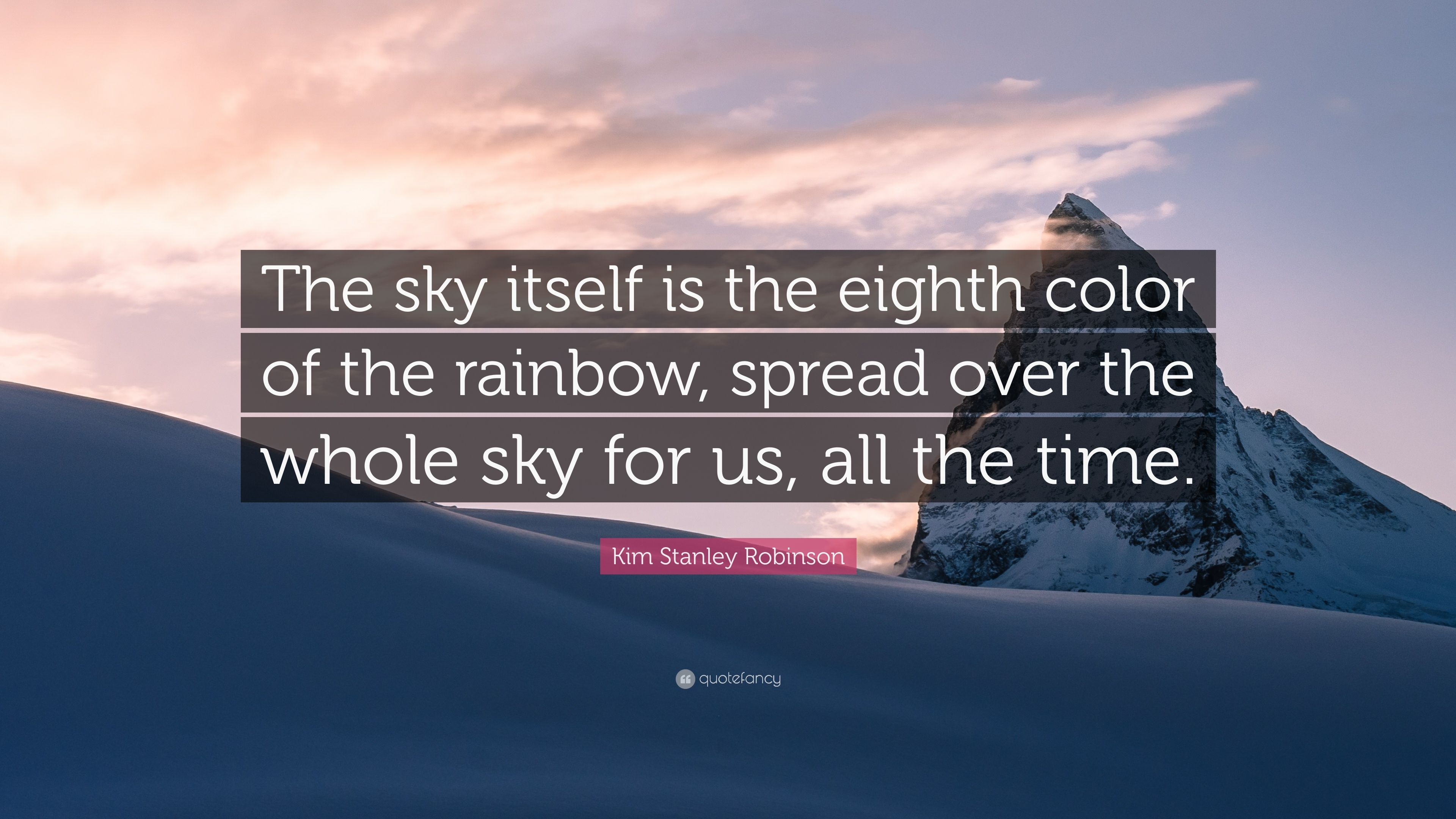 The Eighth Color of the Rainbow