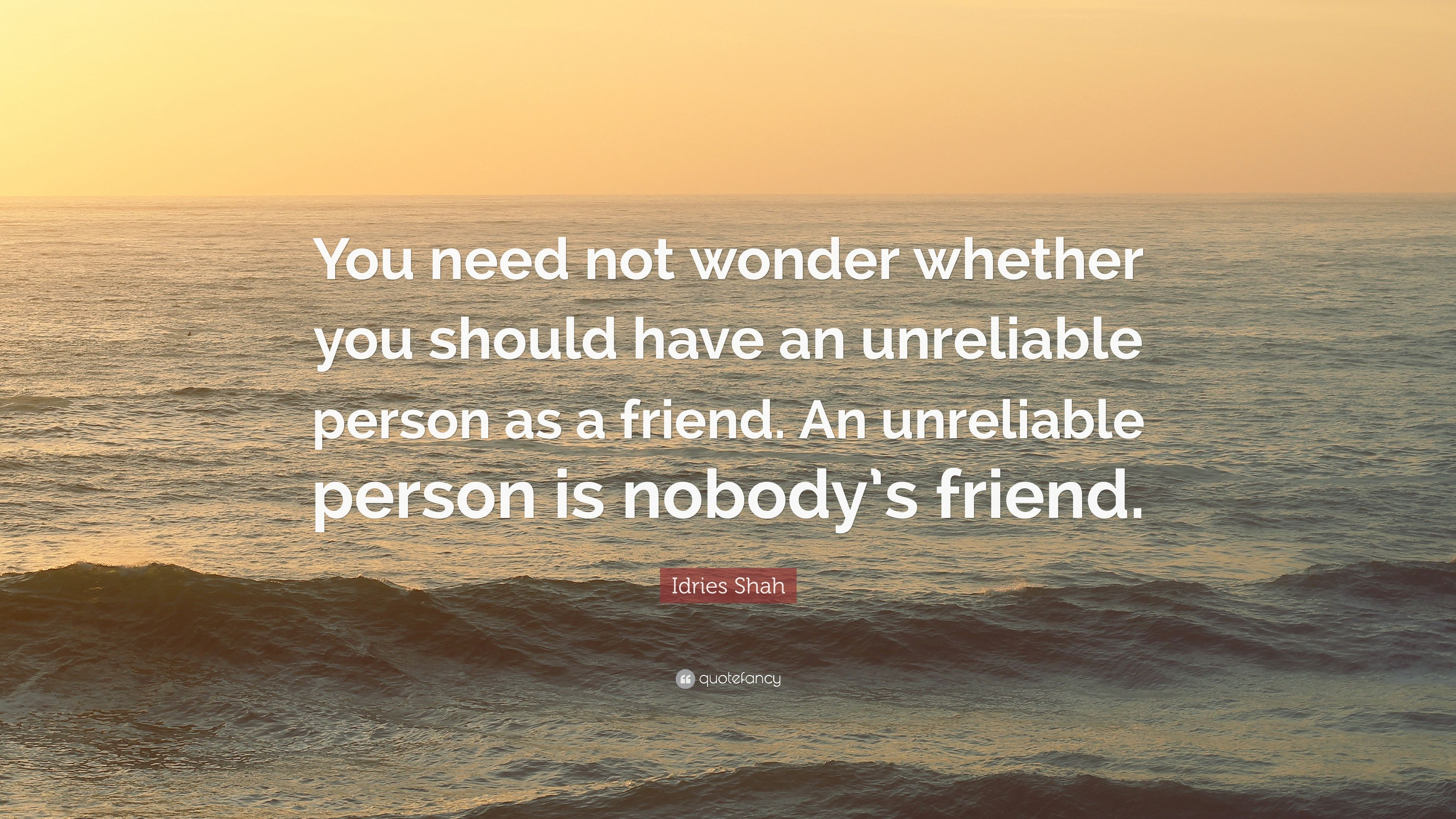 """idries shah quote """"you need not wonder whether you should have an"""