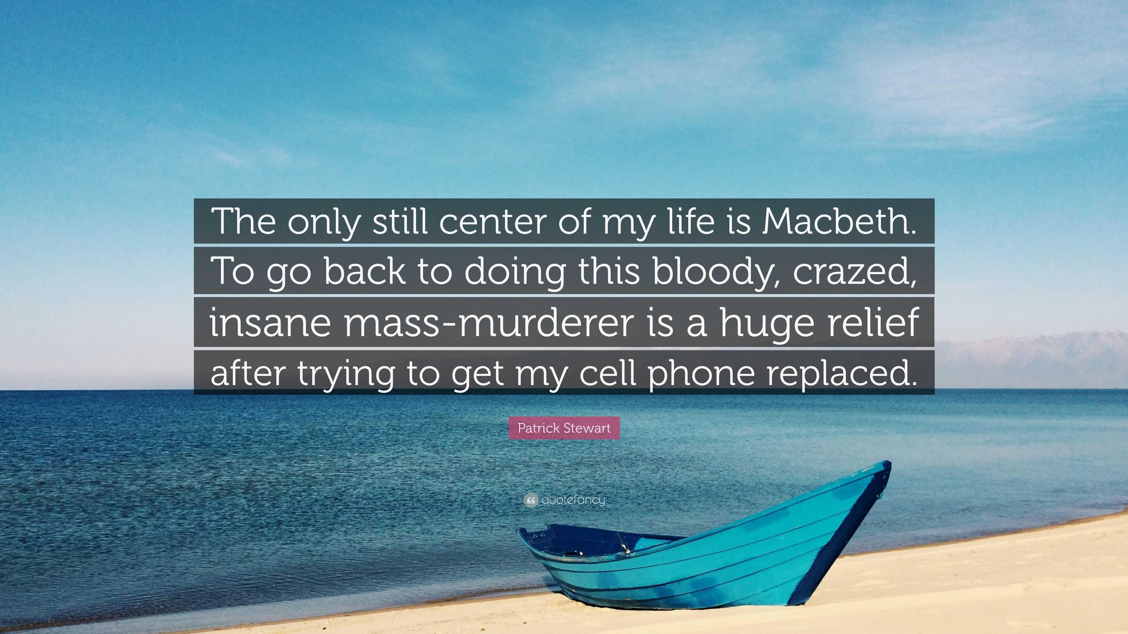 macbeth insanity quotes