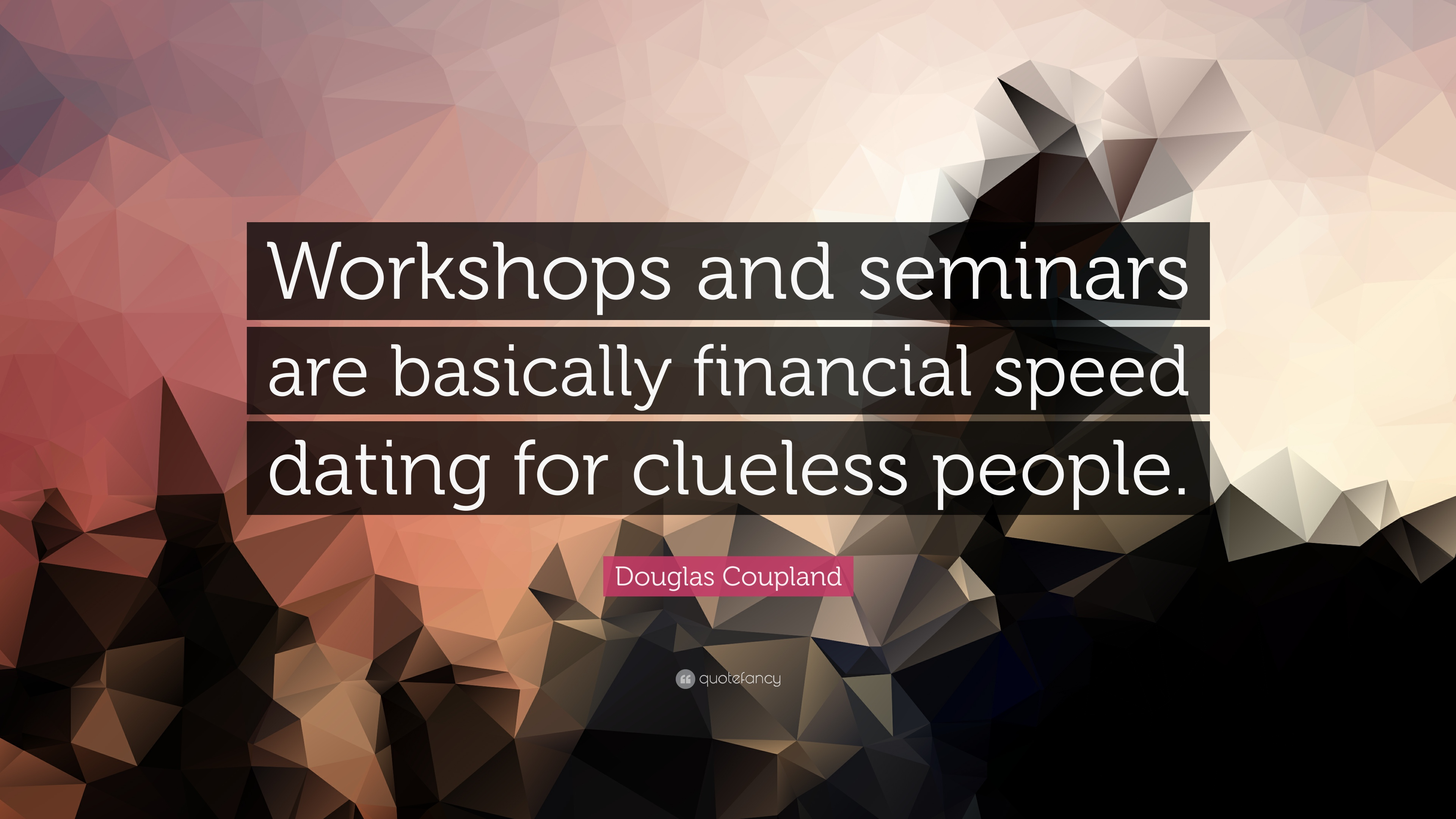 speed dating workshop