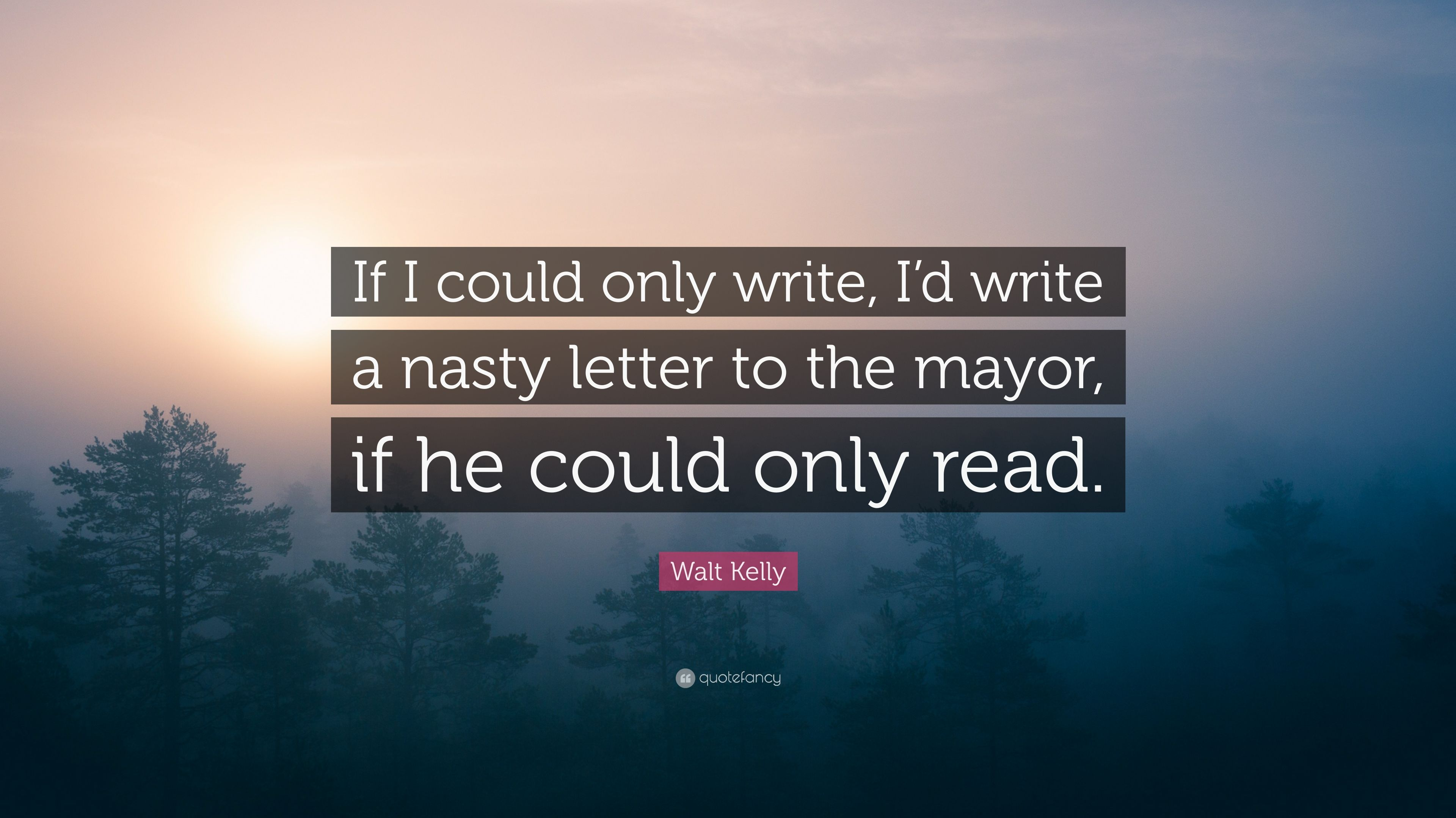 if you could write a letter to god