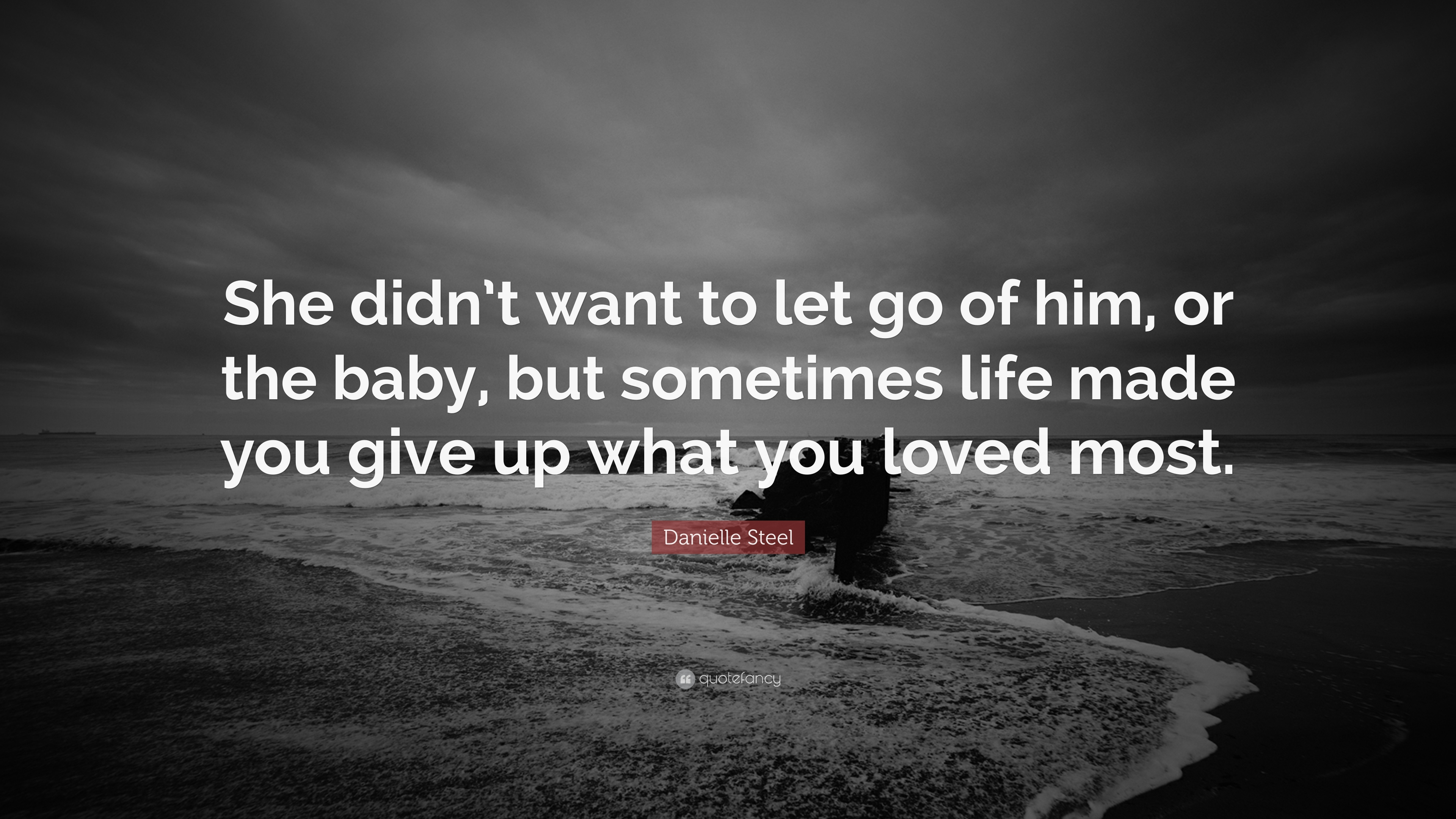 i don t want to let go