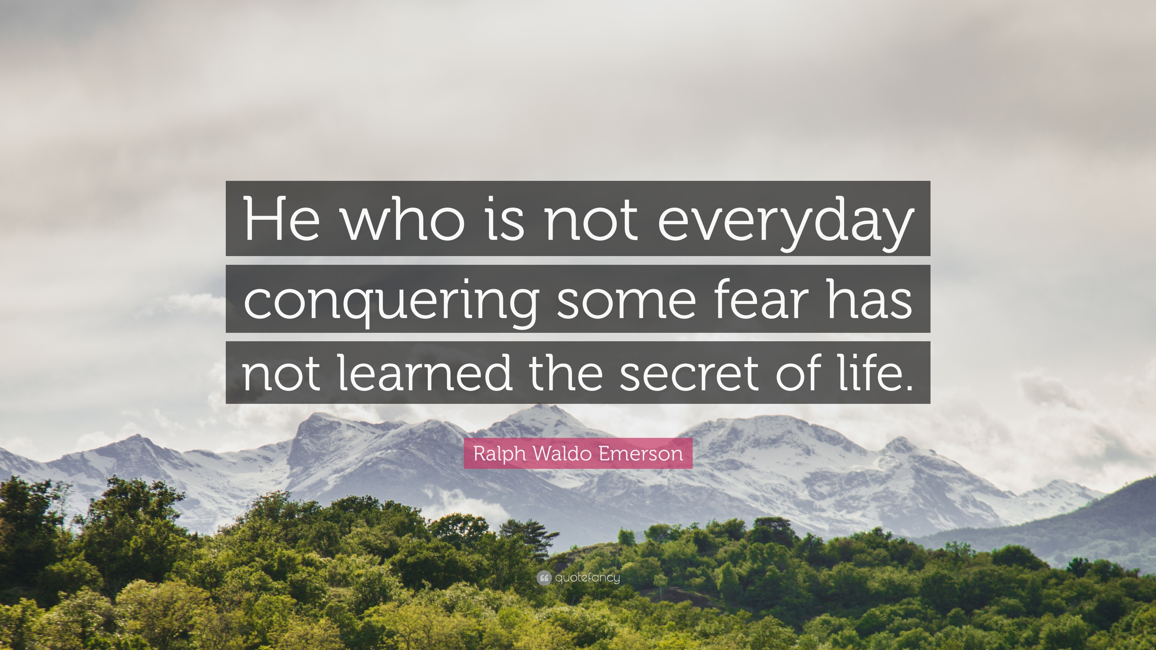 Conquering Fear Quotes