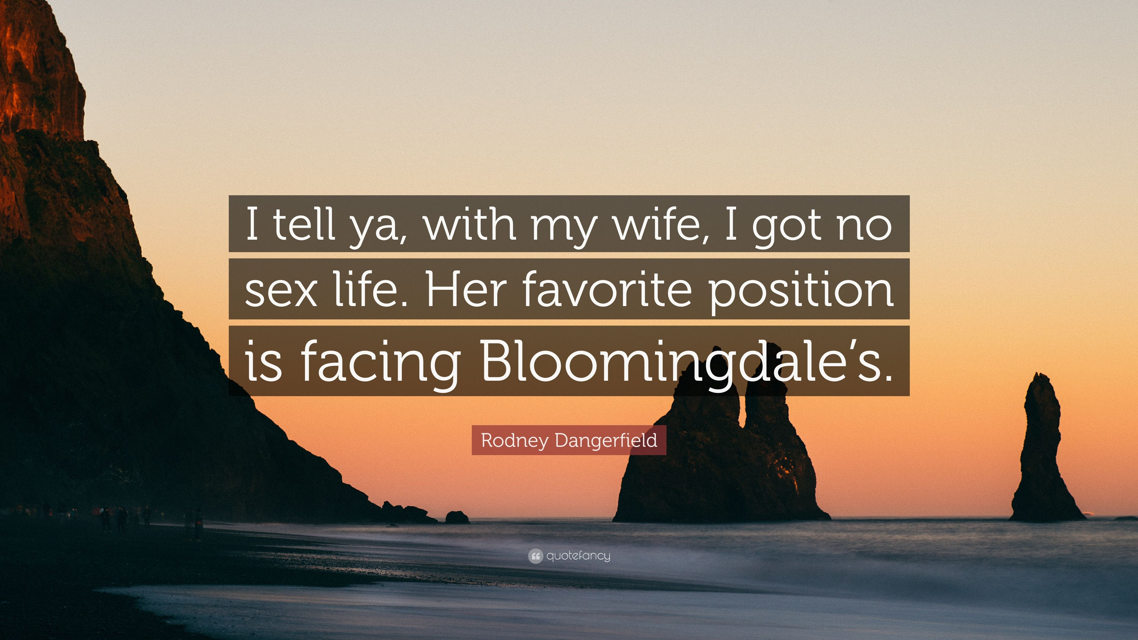 no sex with my wife