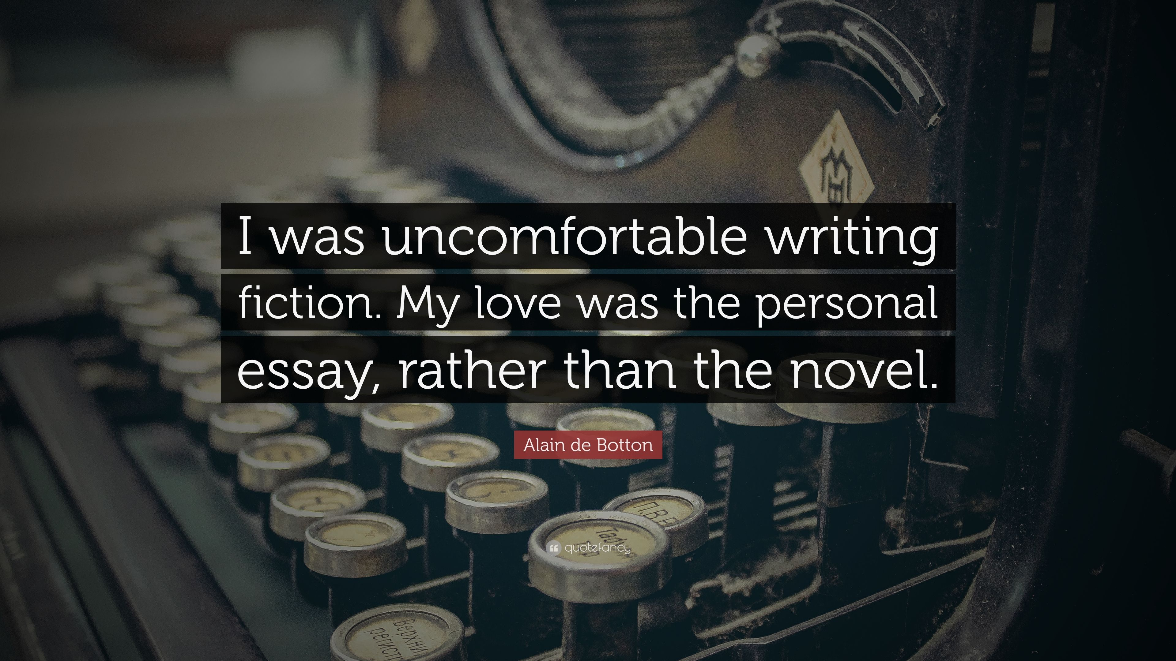 fiction love essay Writingcom is the online community for writers of all interests established in 2000, our community breeds writing, writers and poetry through creative writing help, online creative writing portfolios, poetry, writers' tools and more.