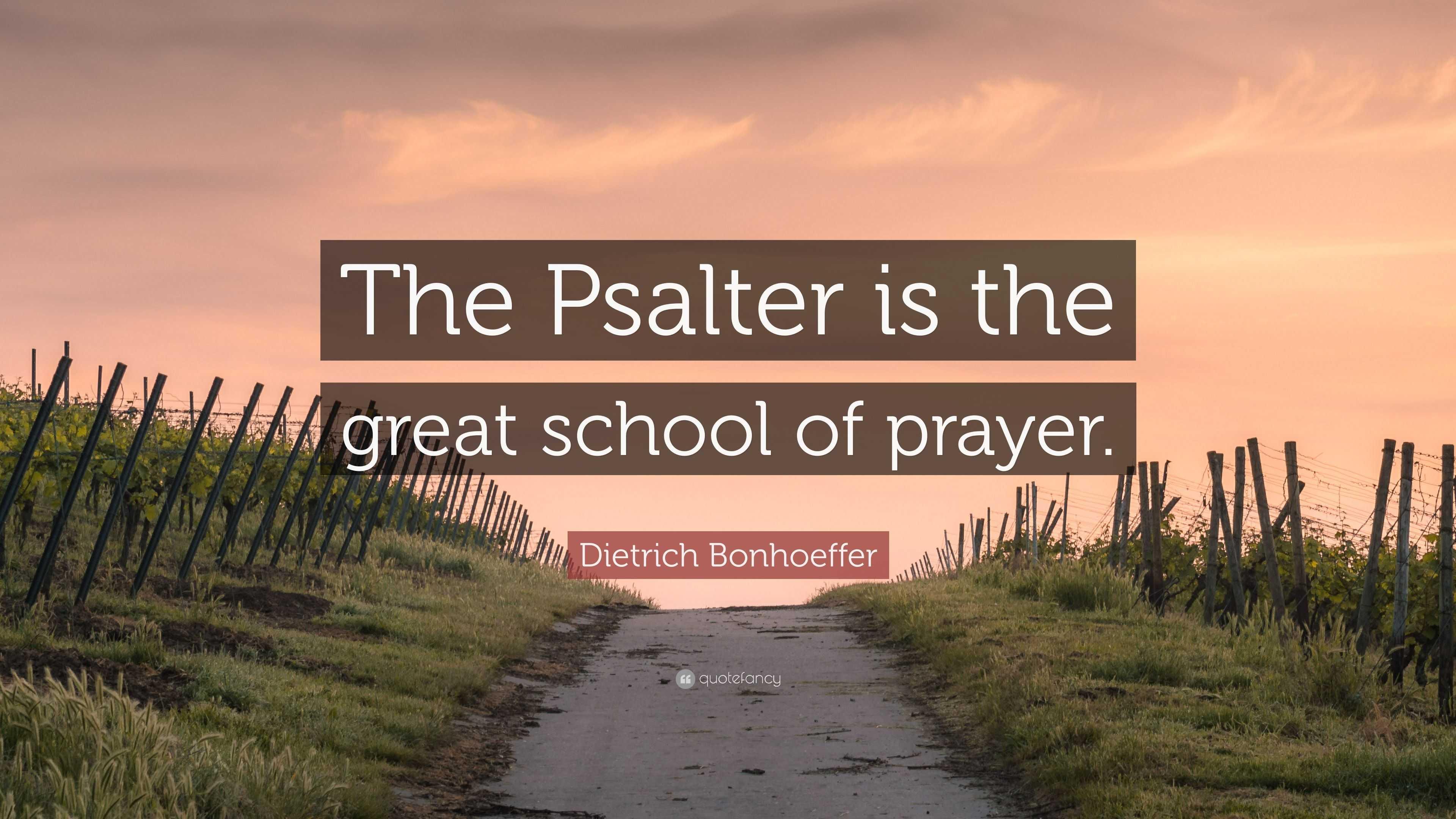 Image result for bonhoeffer psalter