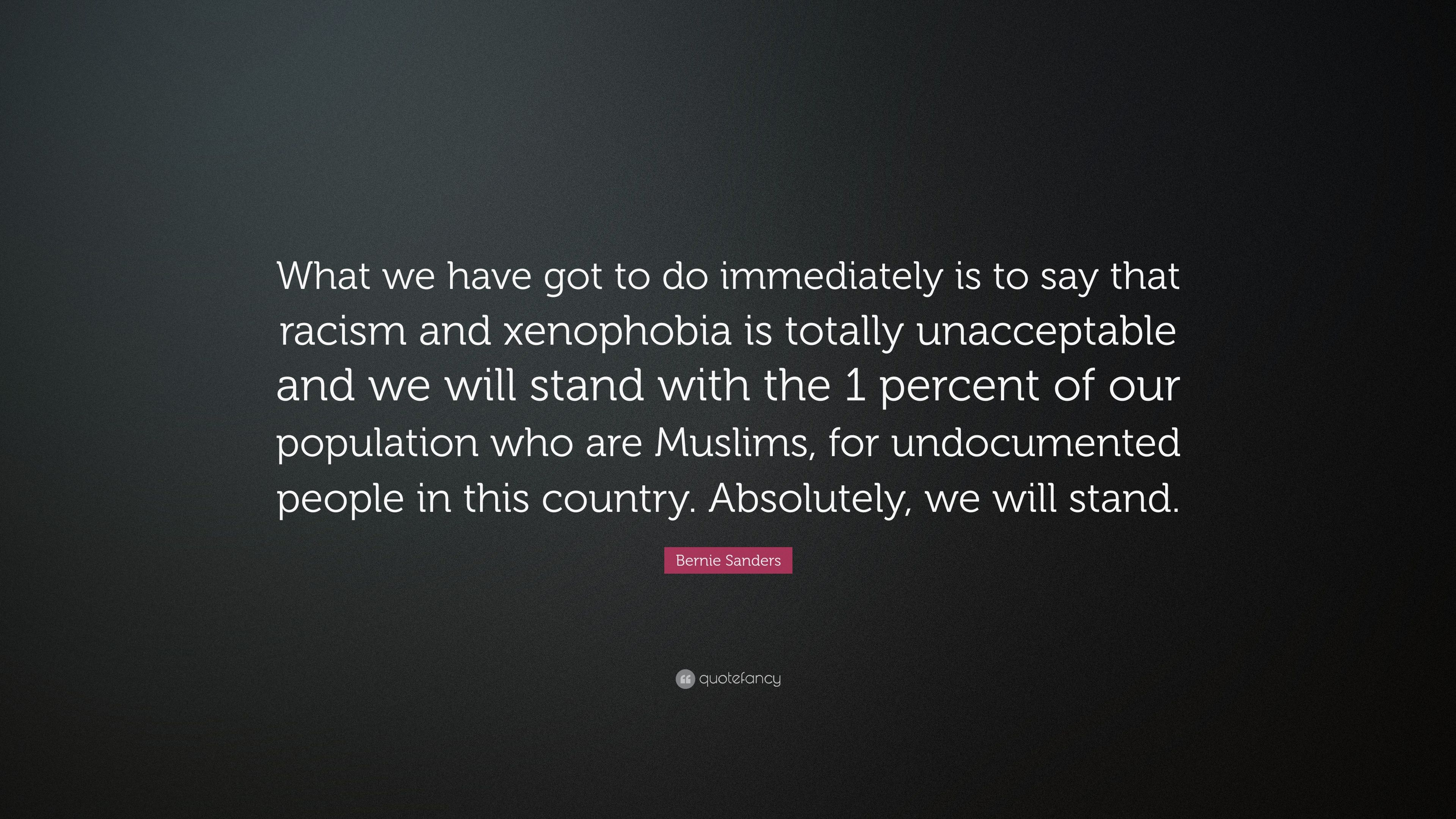 """Bernie Sanders Quote: """"What we have got to do immediately is to"""