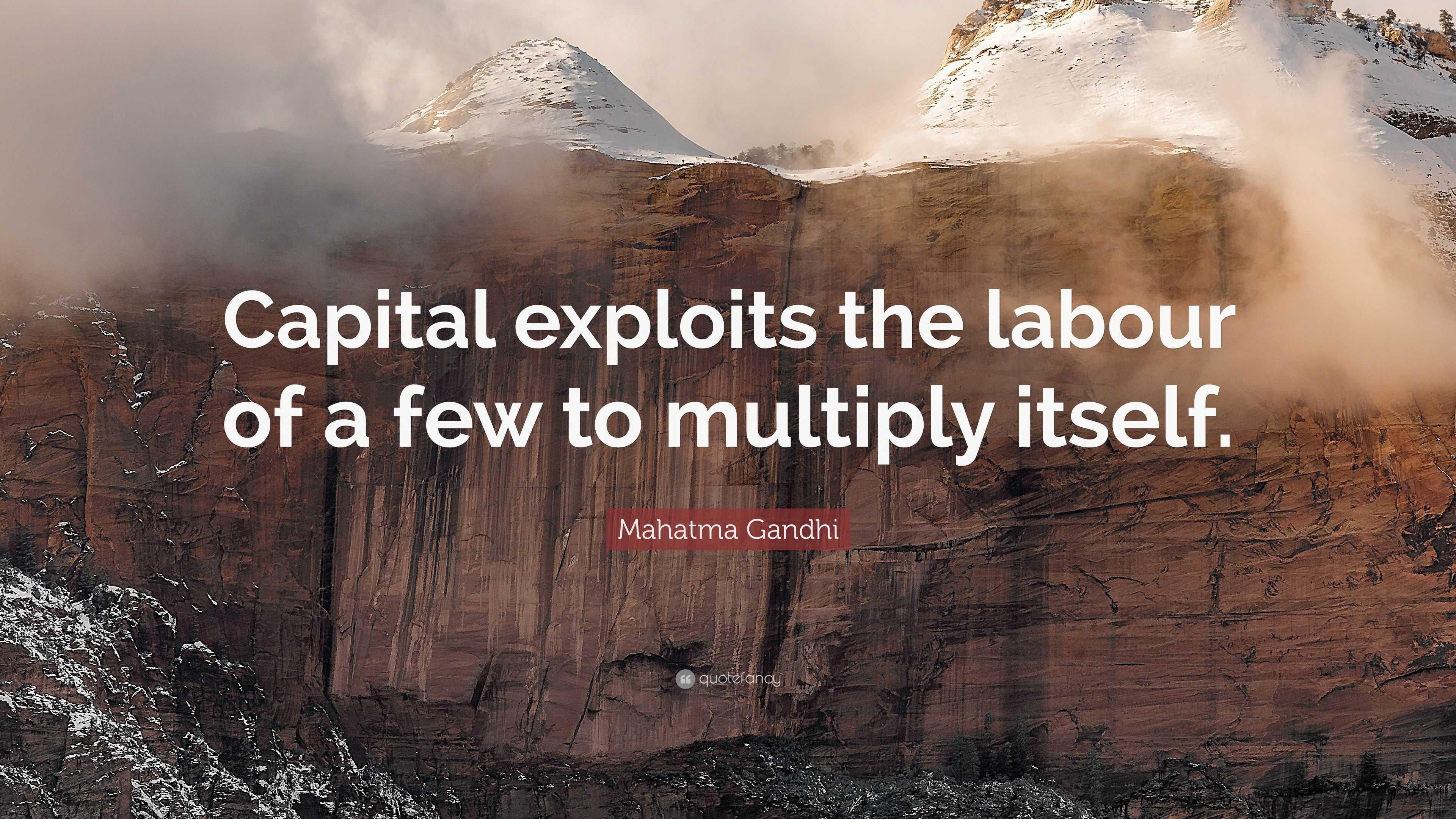 Capital multiplies itself 45