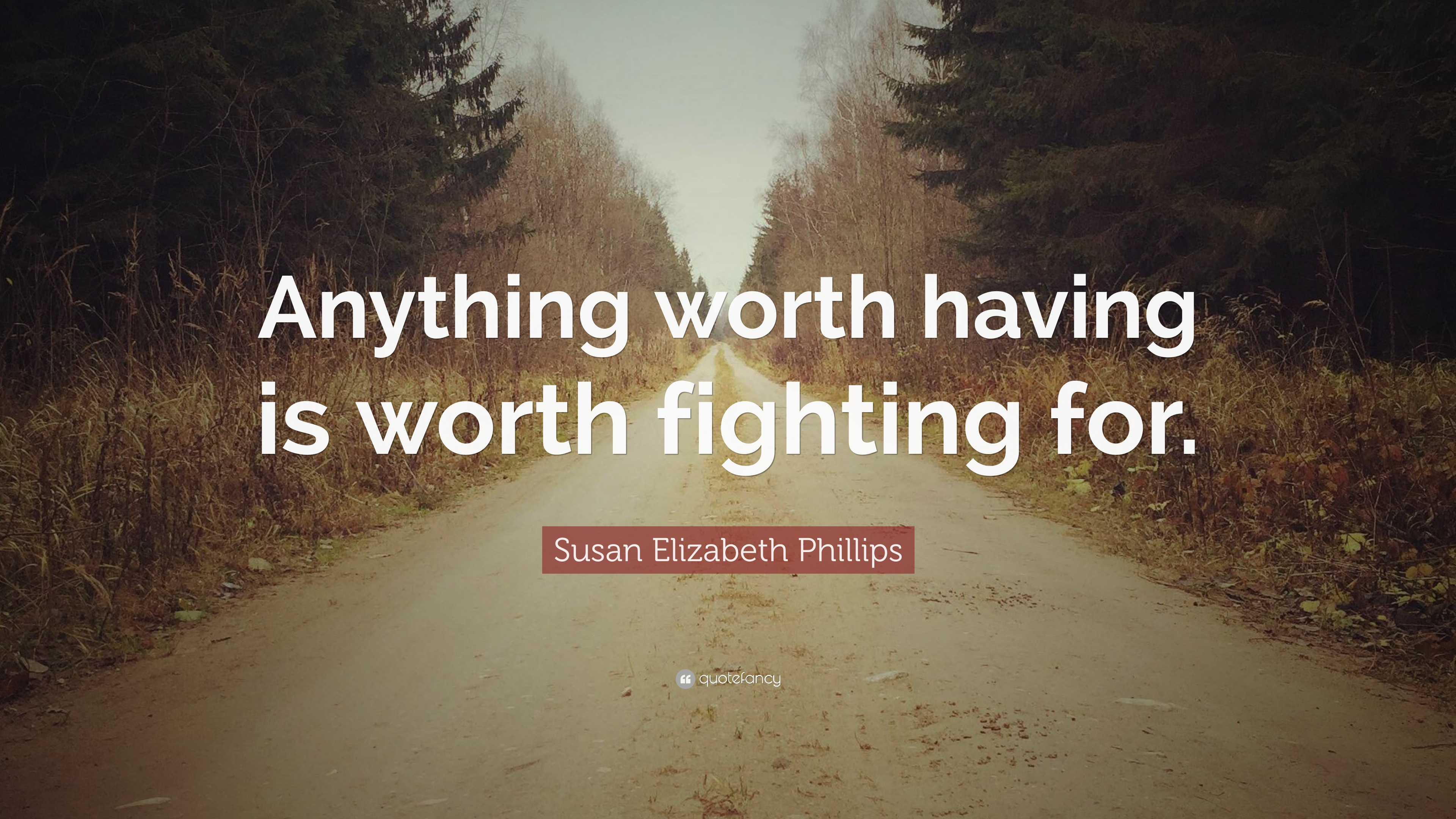 Susan Elizabeth Phillips Quote Anything Worth Having Is Worth