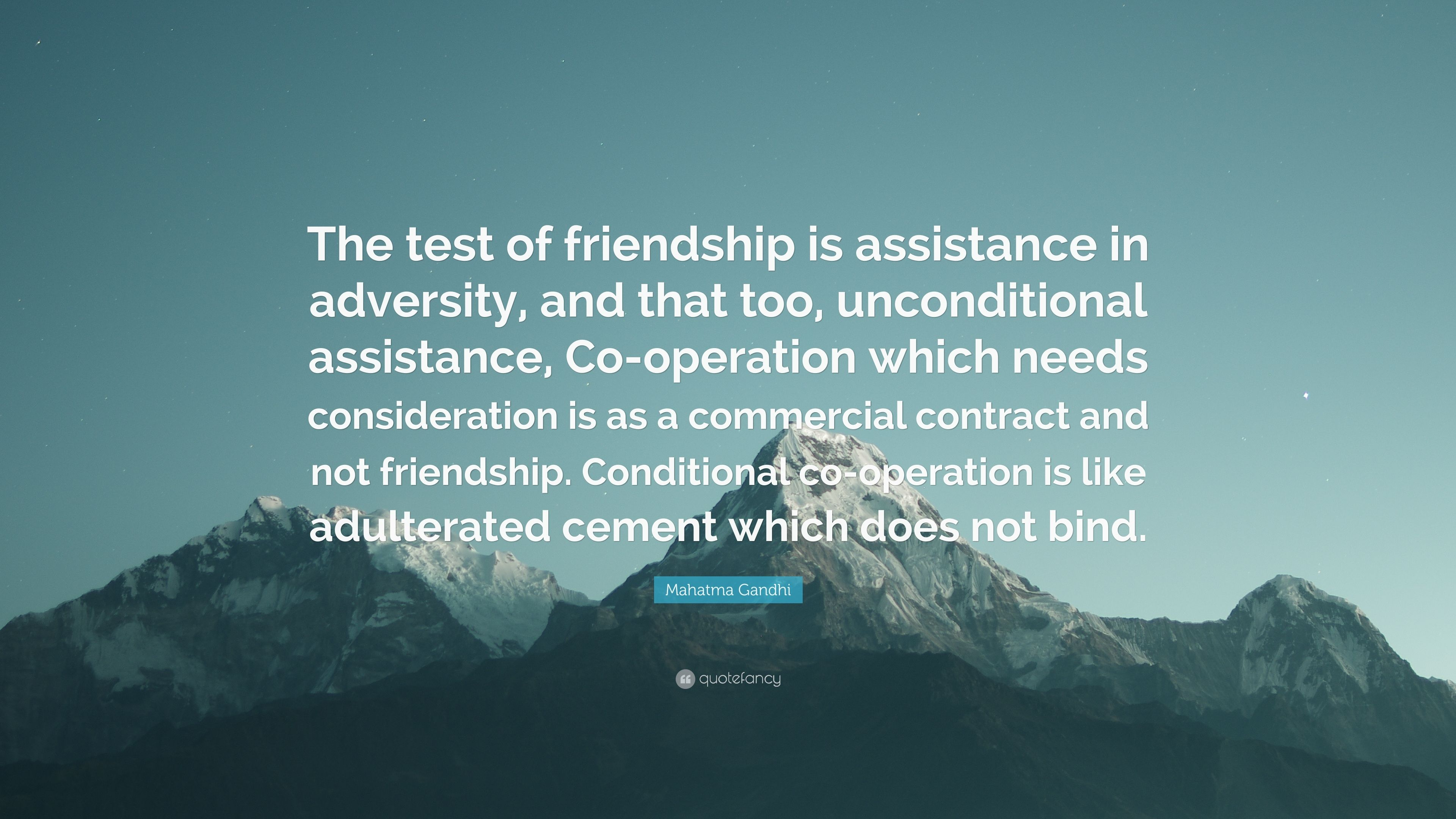 conditional friendship quotes