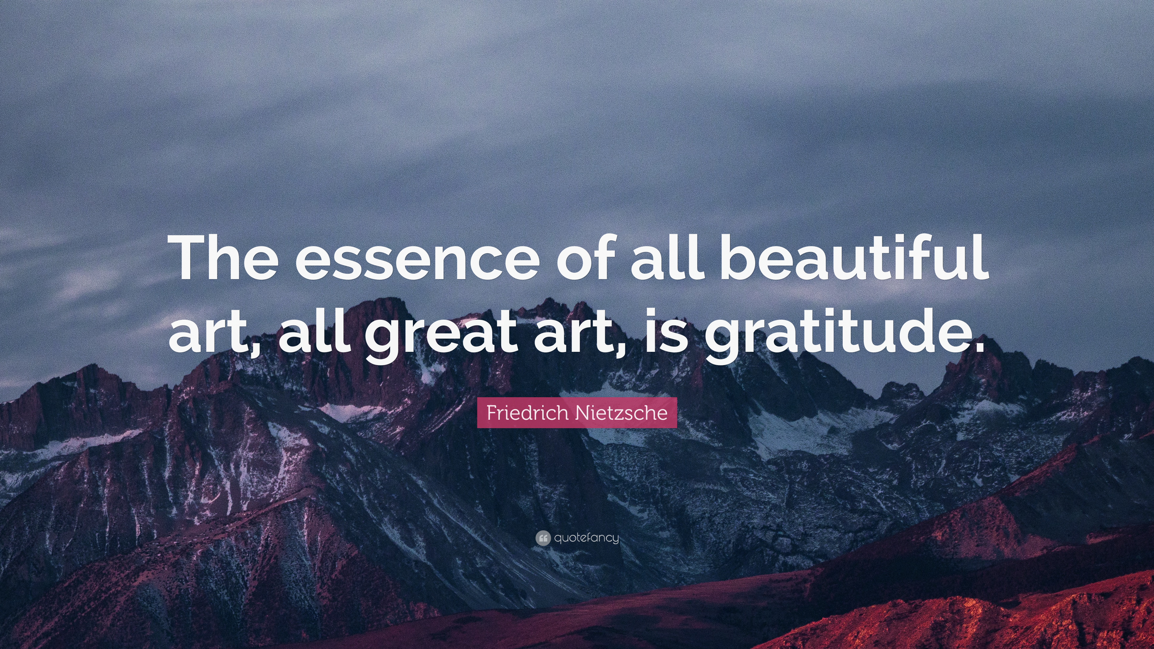 Friedrich Nietzsche Quote: U201cThe Essence Of All Beautiful Art, All Great Art,