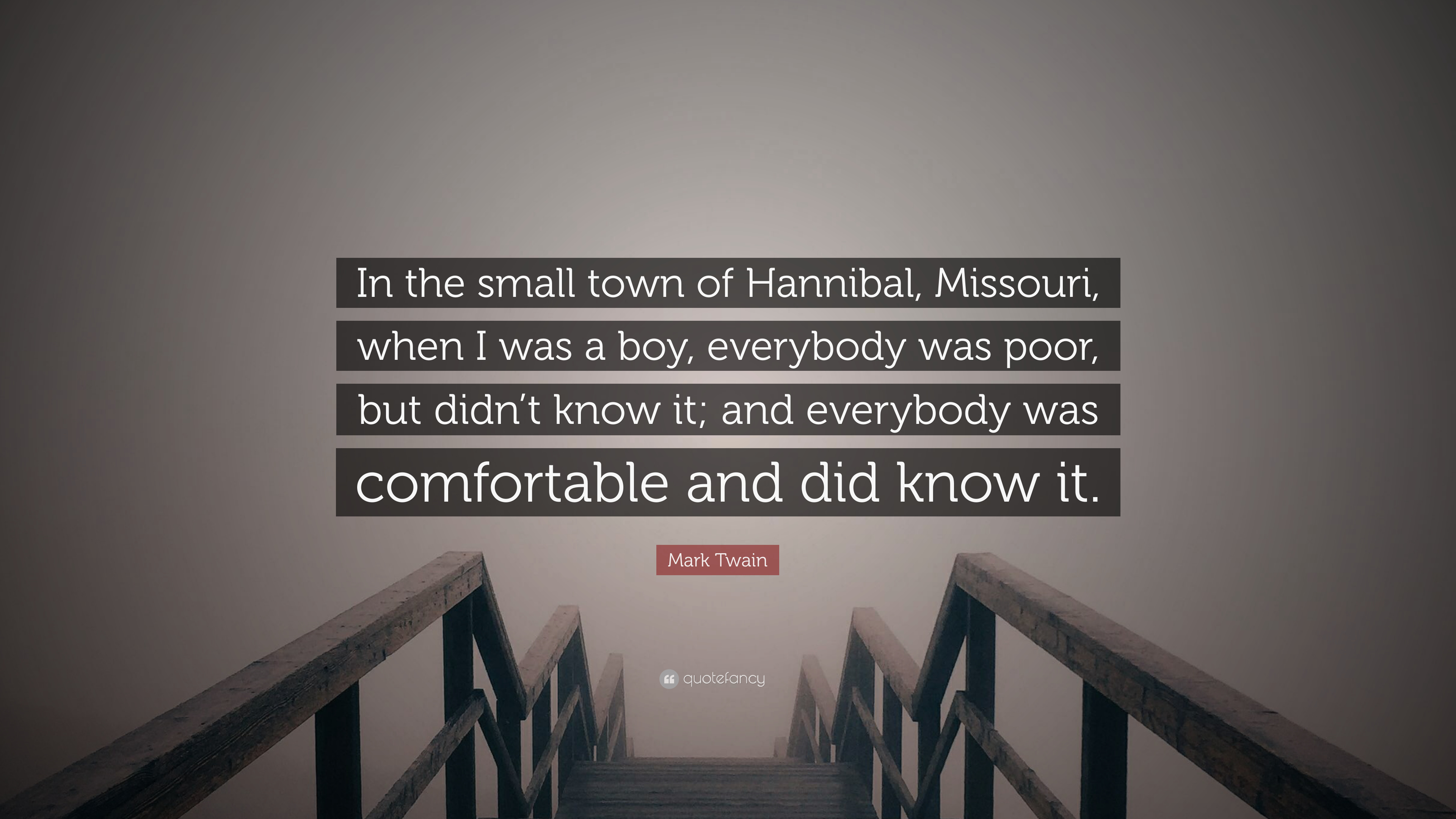Small Town Quotes Mark Twain