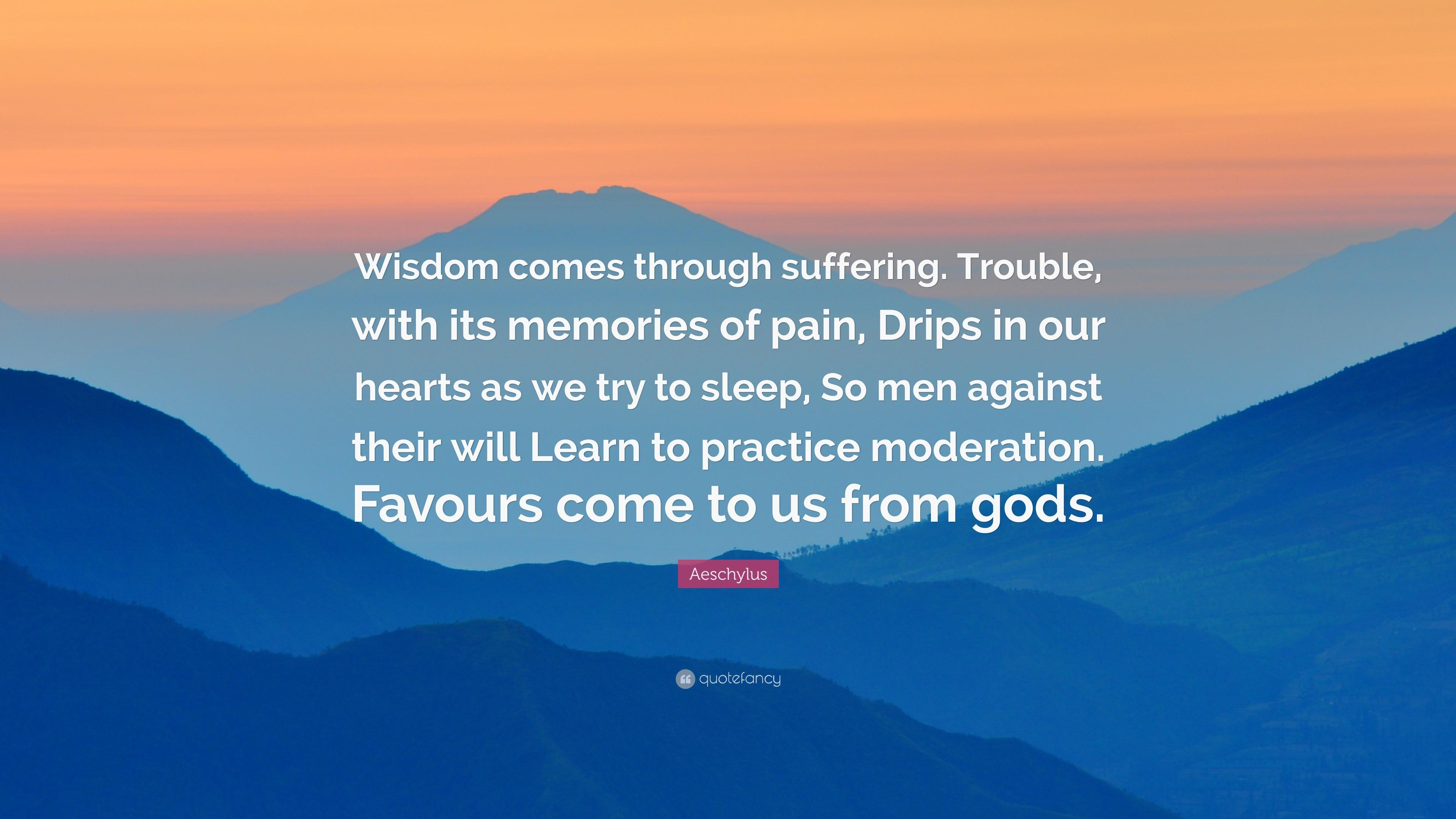 goodreads aeschylus quotes
