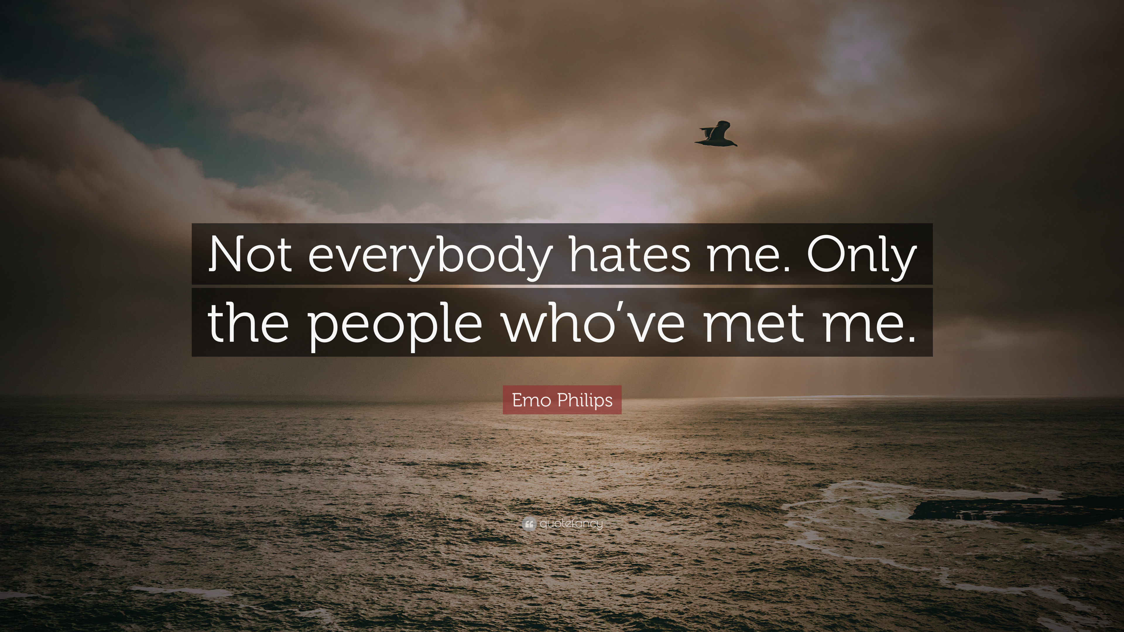Everybody Hates Me Quotes: Emo Philips Quotes (100 Wallpapers)