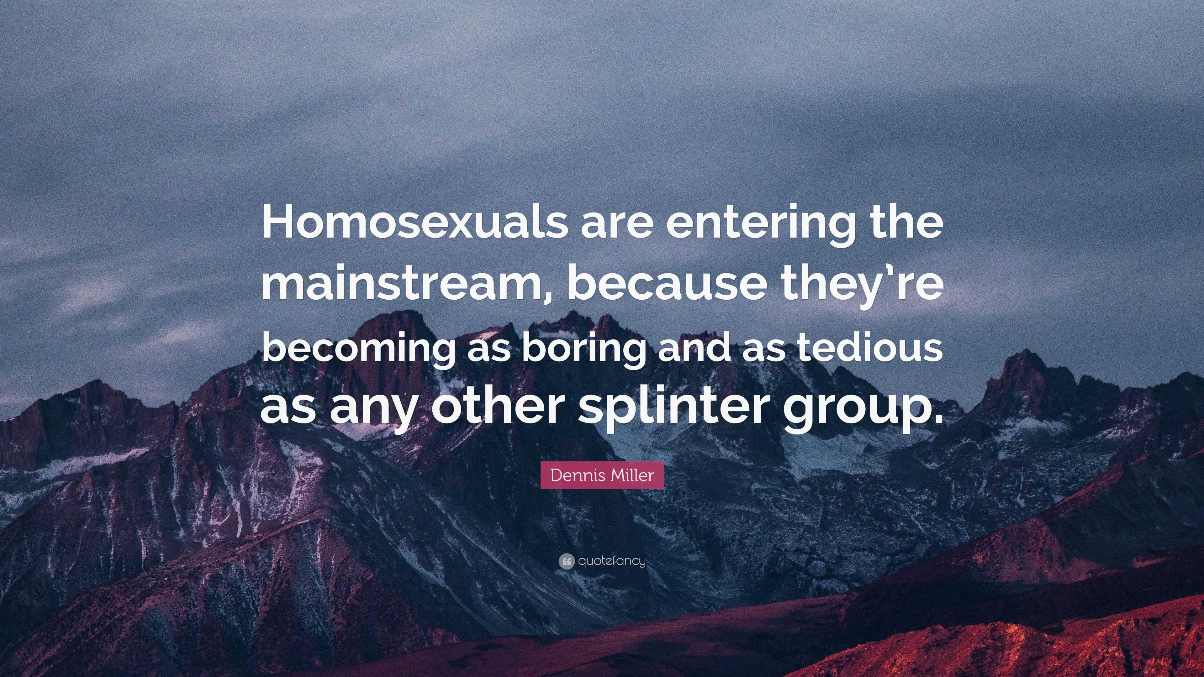 Monosexuals are boring