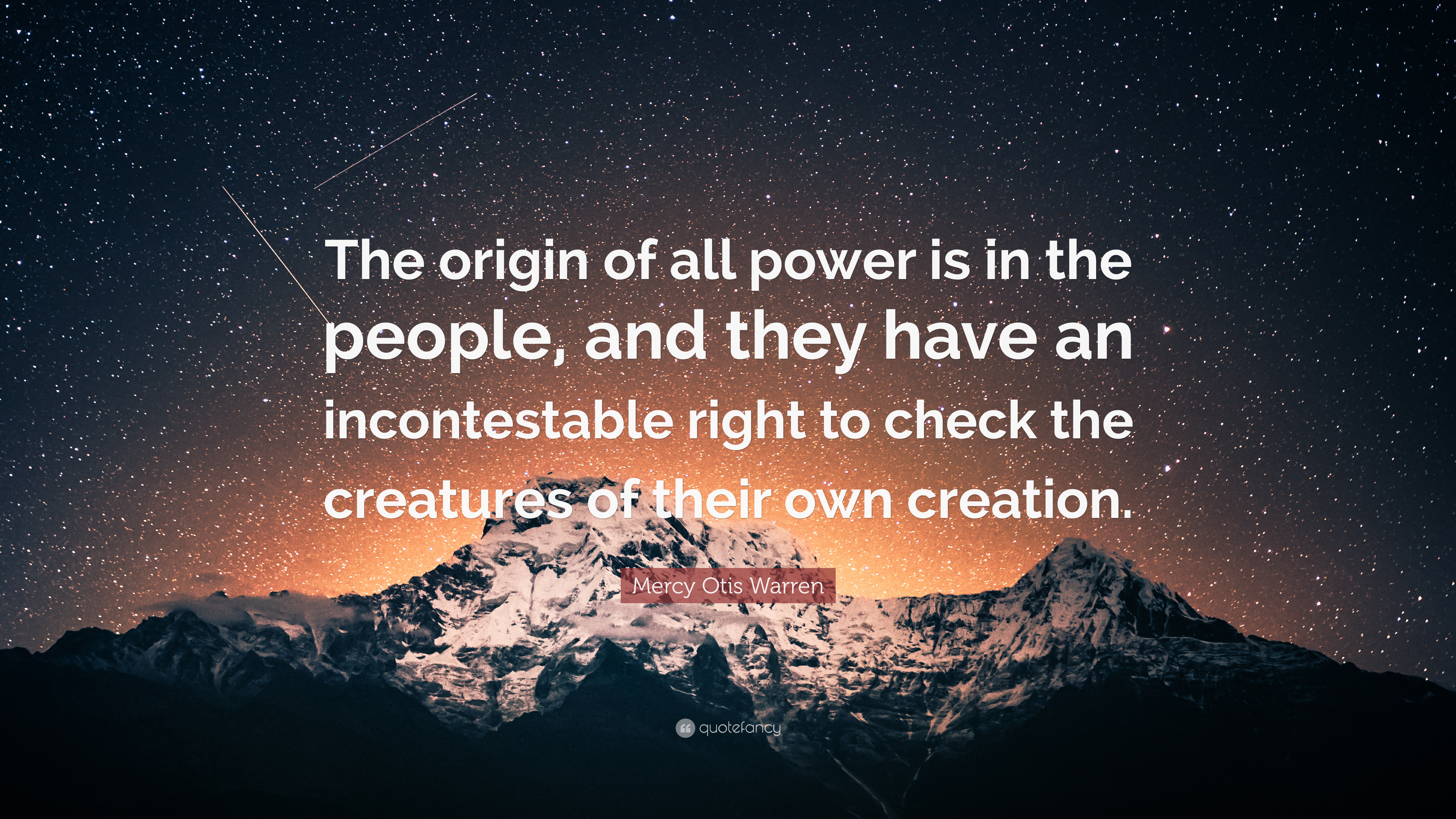 Origins of Power