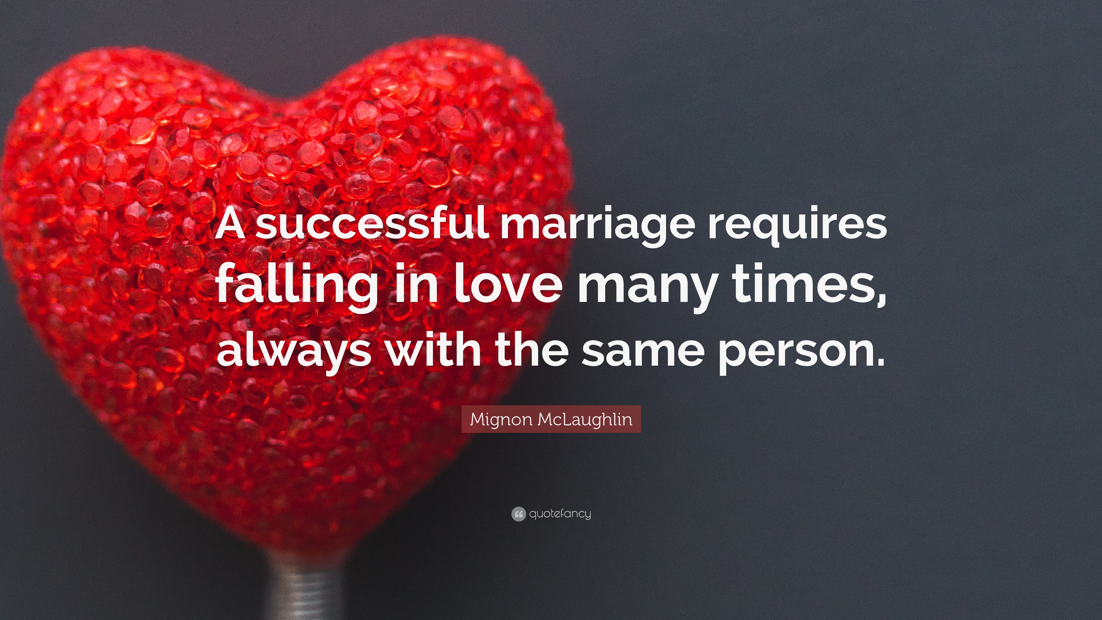 a successful relationship requires falling in love