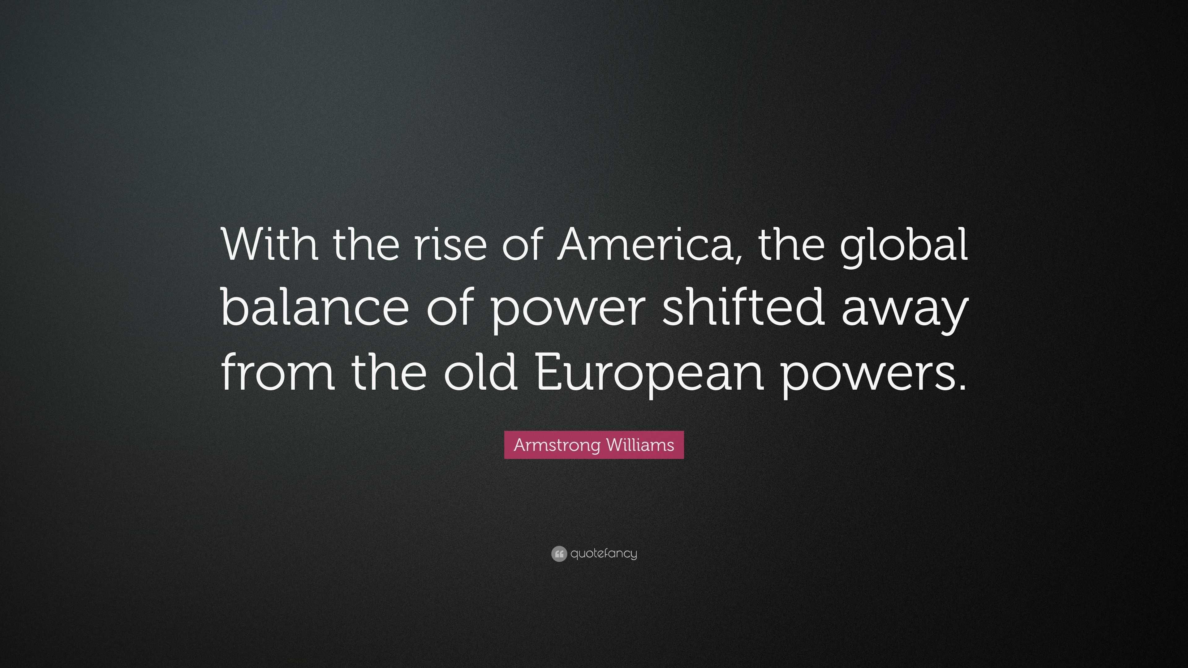 shift in global economic power definition