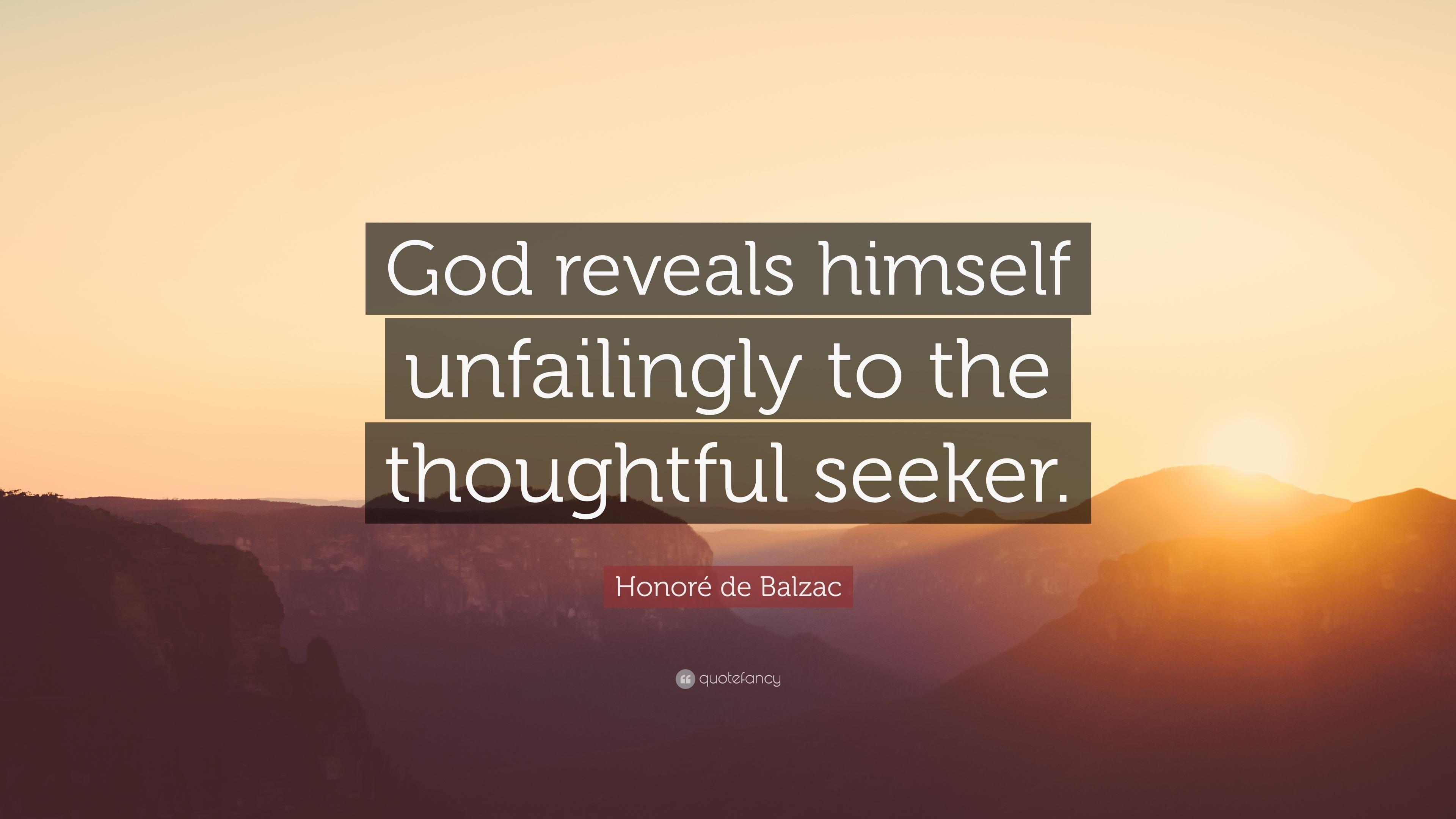 Bible where god reveals himself