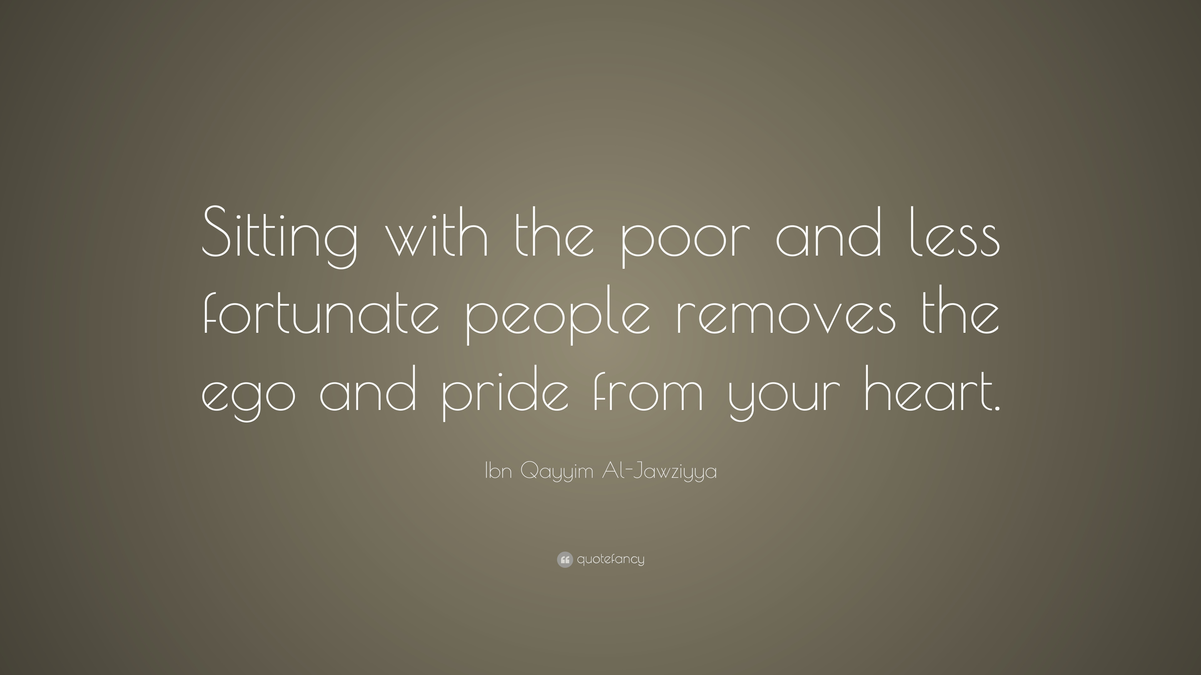 Ibn Qayyim Al Jawziyya Quote Sitting With The Poor And Less