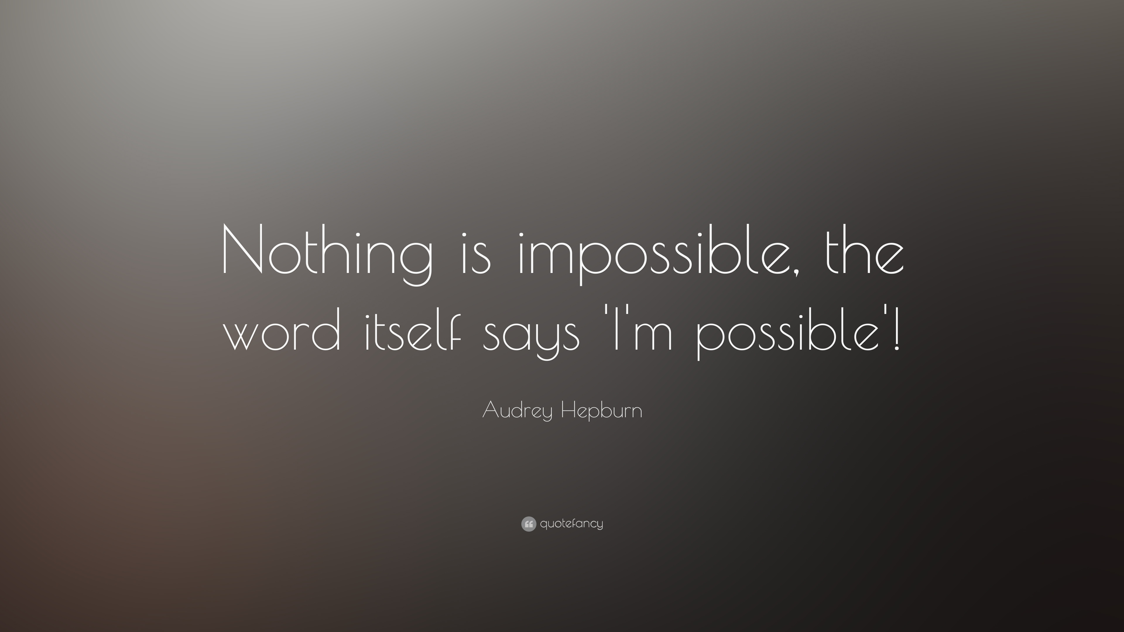 Impossible Is Nothing Quote Custom Impossible Is Nothing Quote  Quotes Of The Day