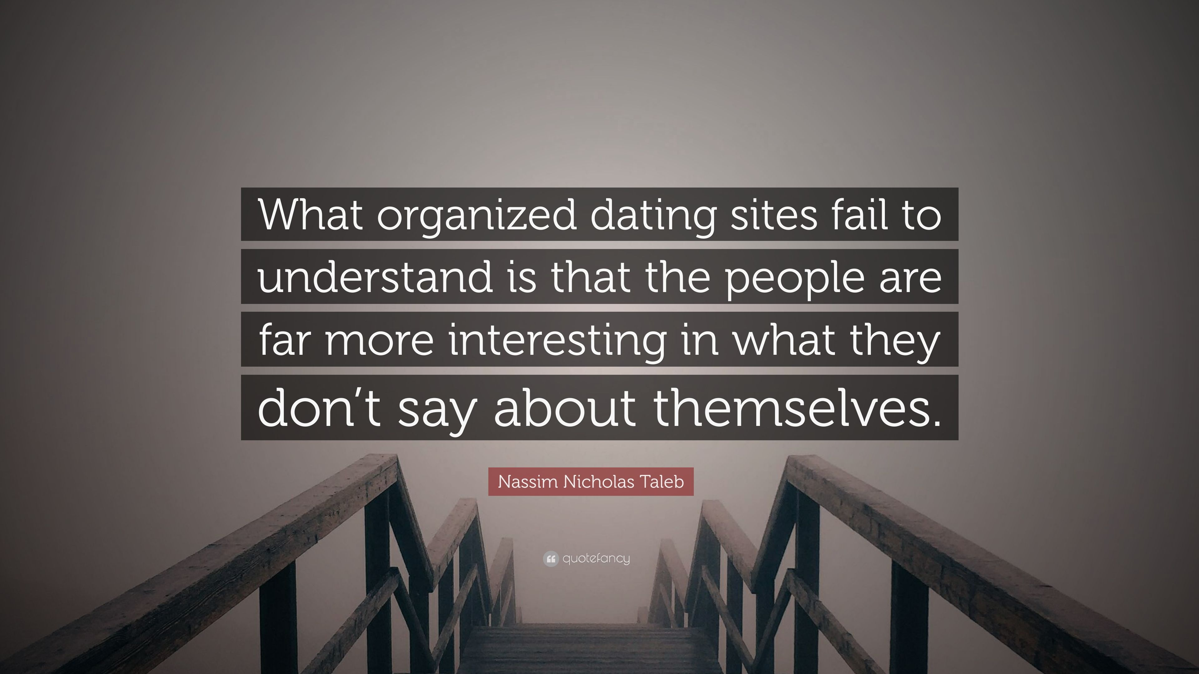 Why dating sites fail dating in the dark 2013