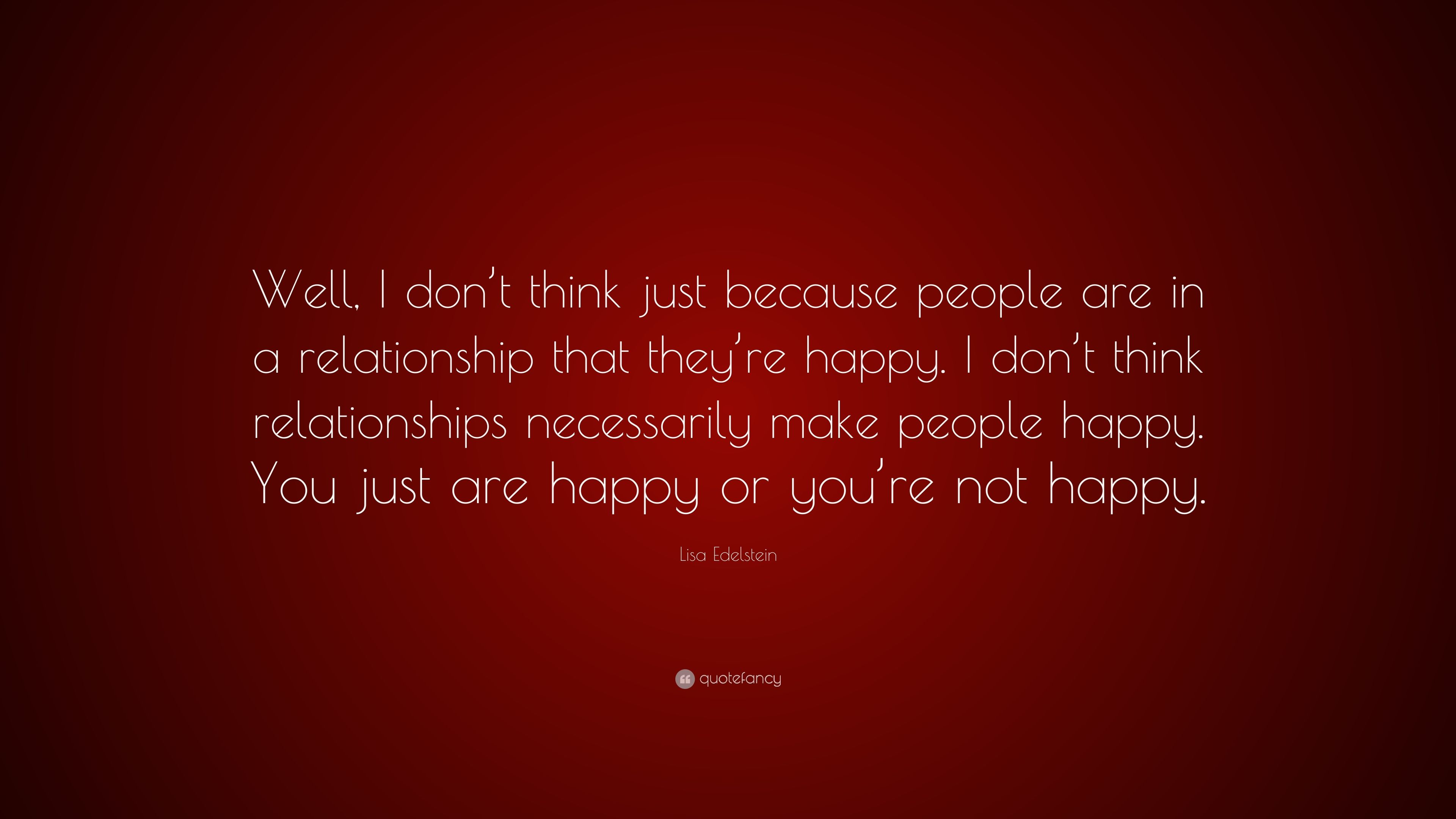 """lisa edelstein quote """"well i don t think just because people are"""