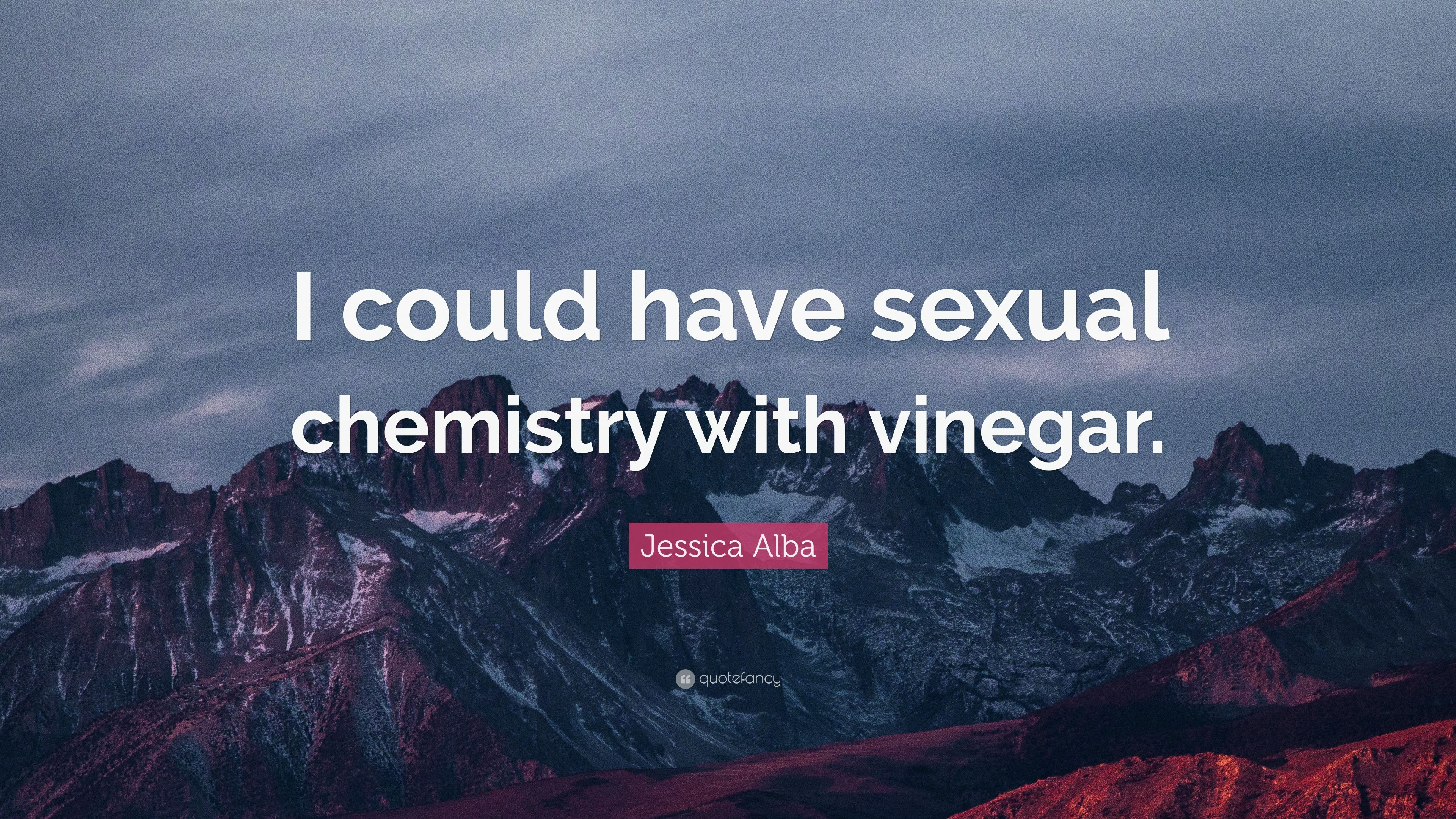 Is chemistry what sexual Intense Sexual