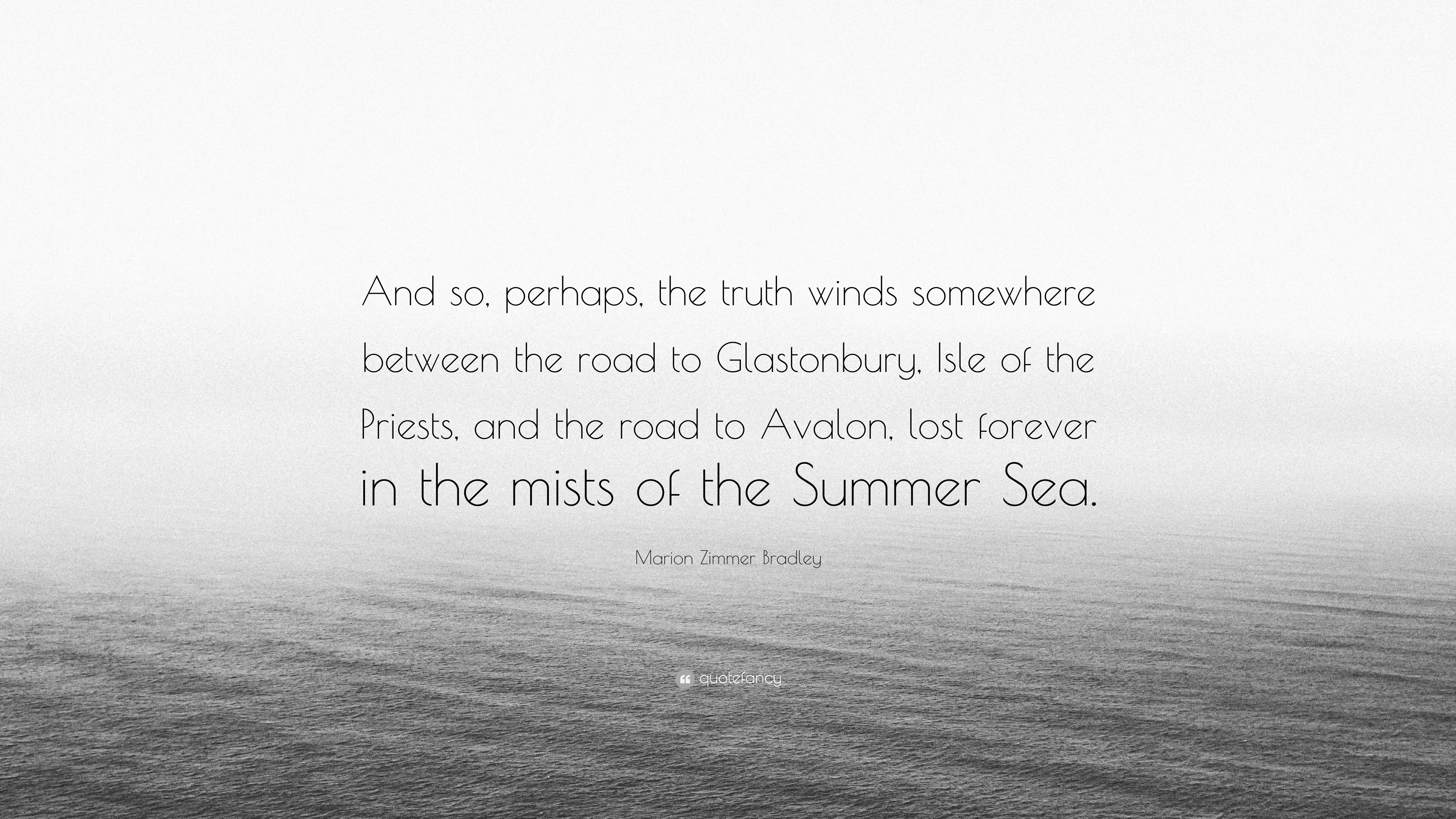 Mists of avalon quotes