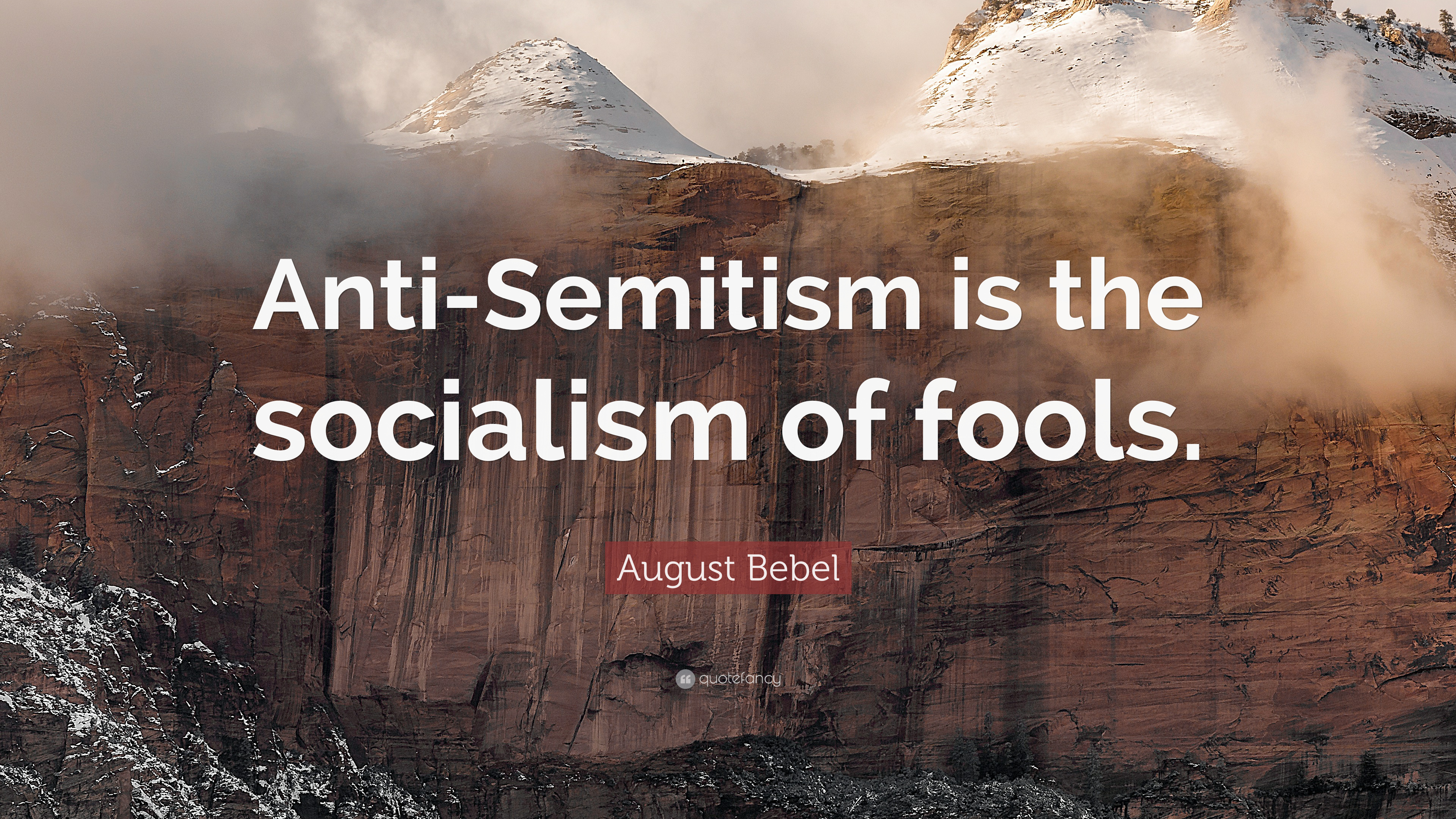 Image result for anti semitism the socialism of fools