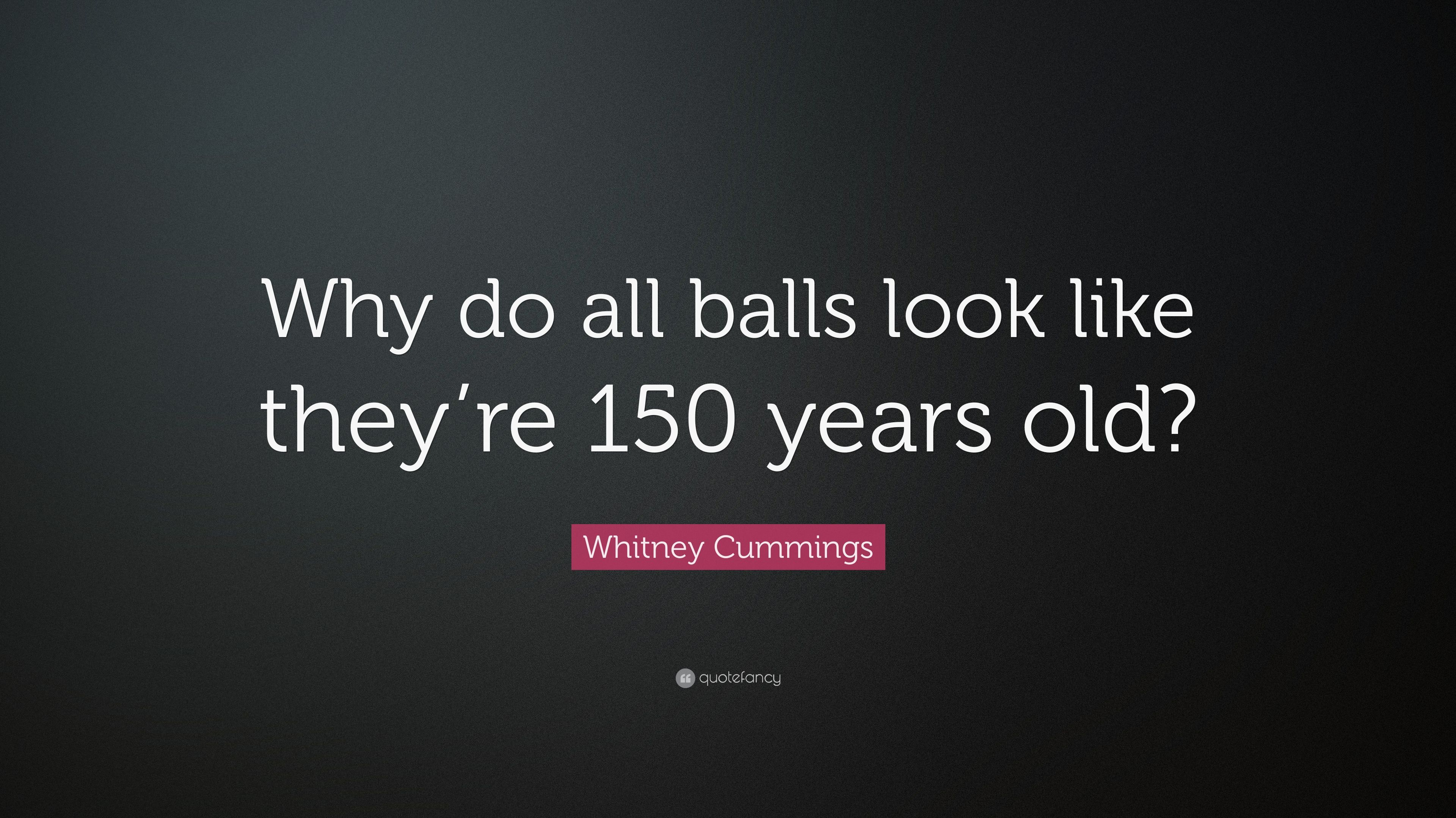 whitney cummings balls