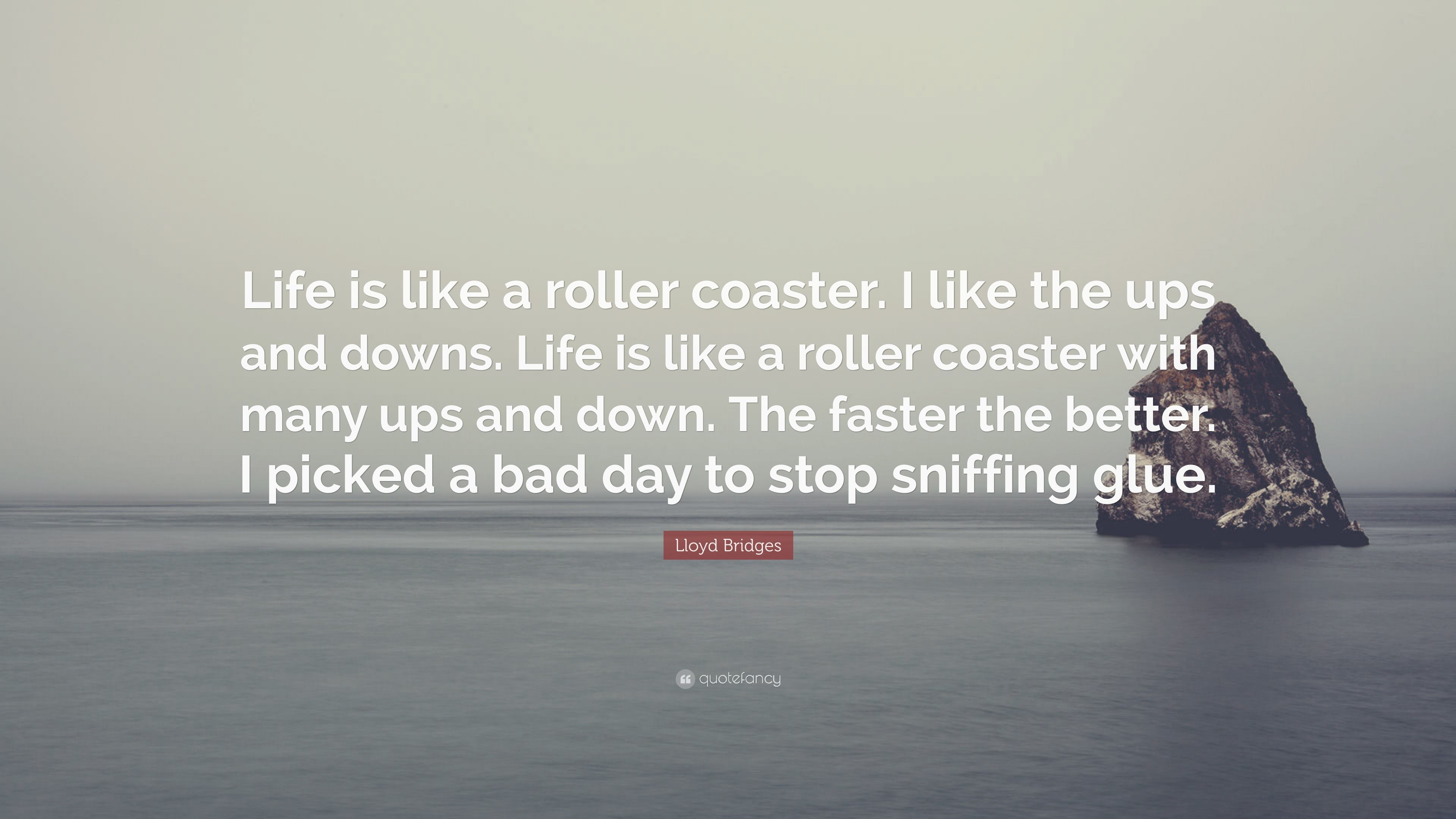 Lloyd Bridges Quote Life Is Like A Roller Coaster I Like The Ups And Downs Life Is Like A Roller Coaster With Many Ups And Down The Faste 7 Wallpapers Quotefancy