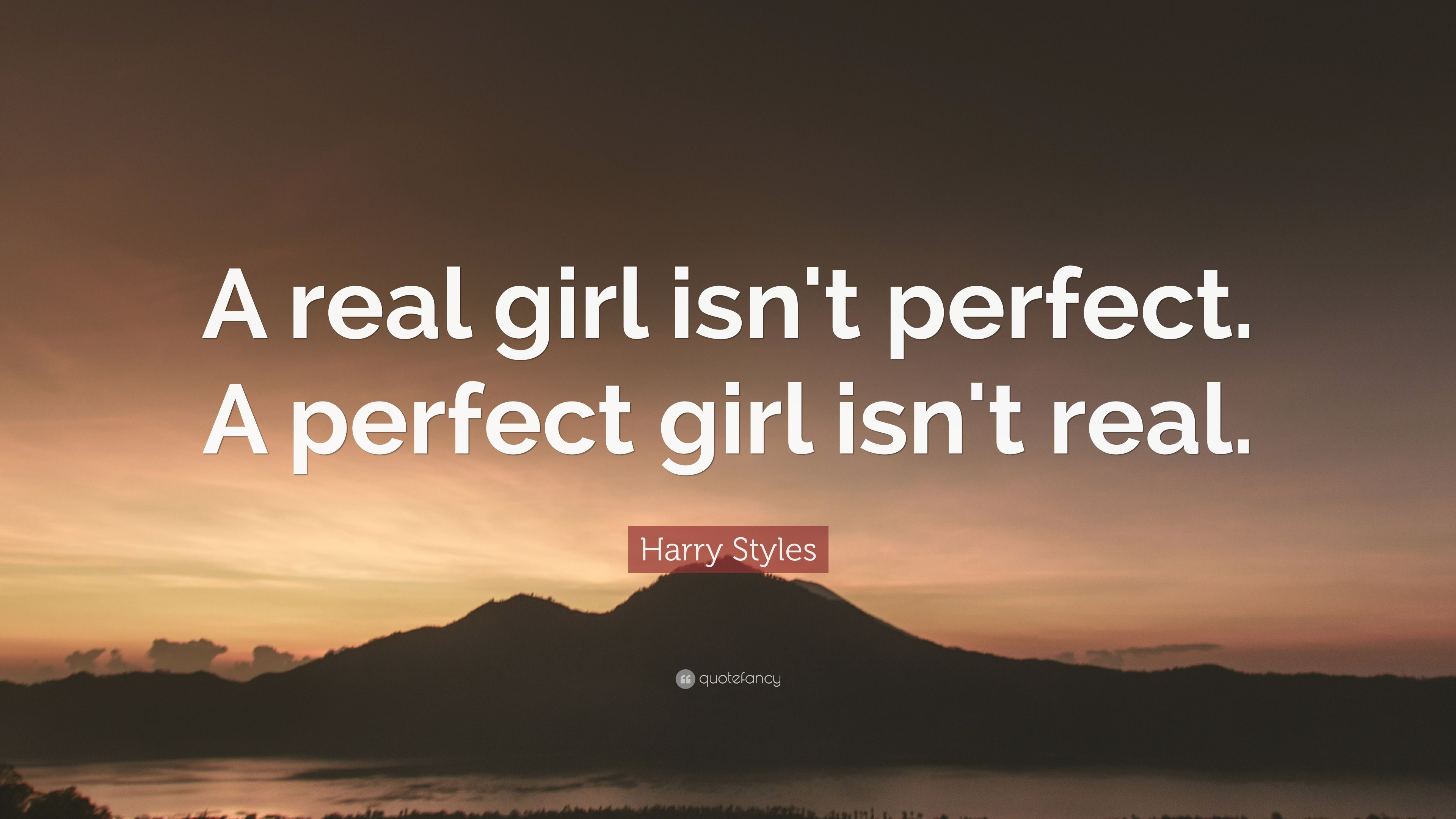 Dating a girl who isnt perfect