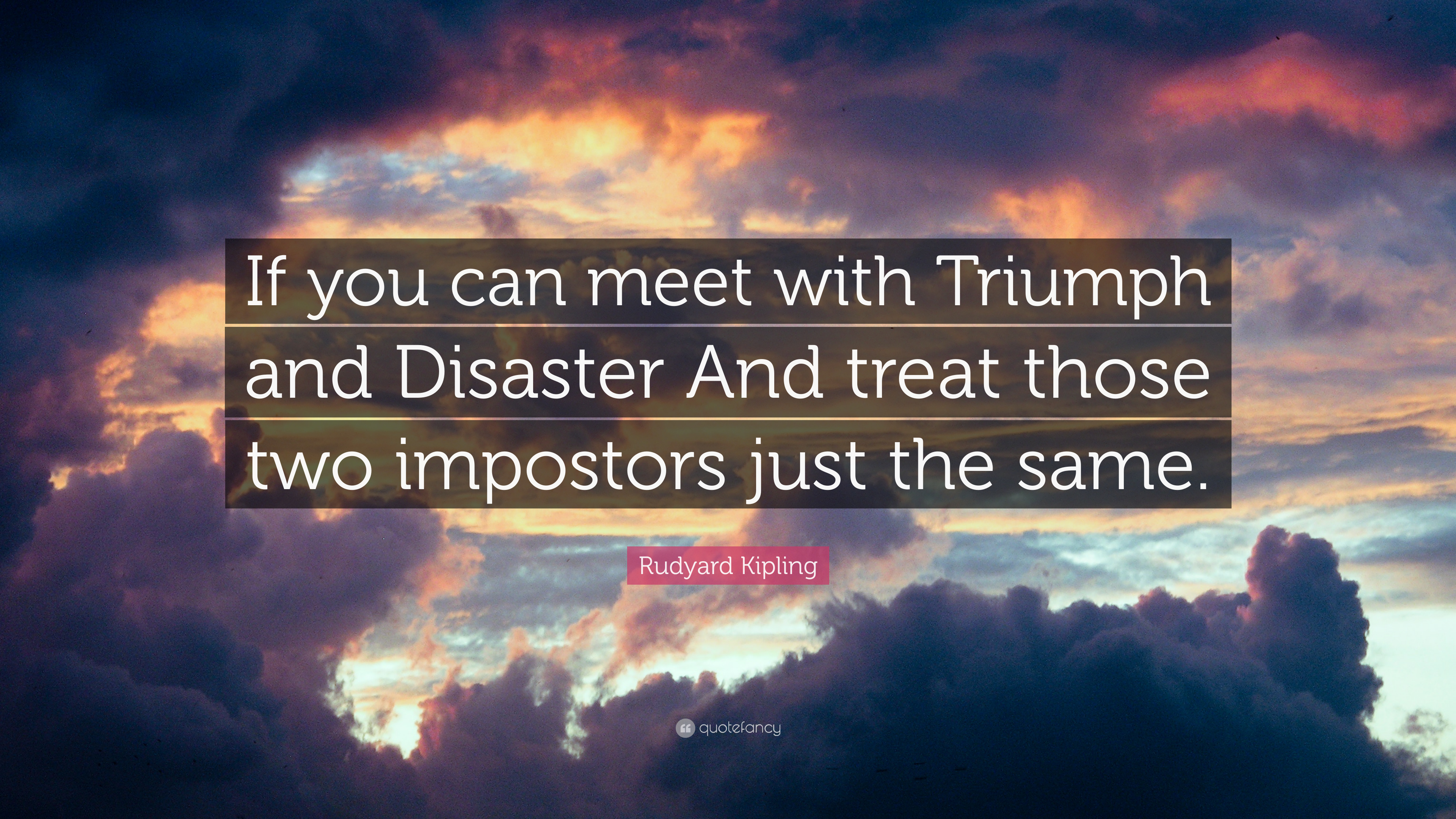 rudyard kipling quotes if you can meet with triumph