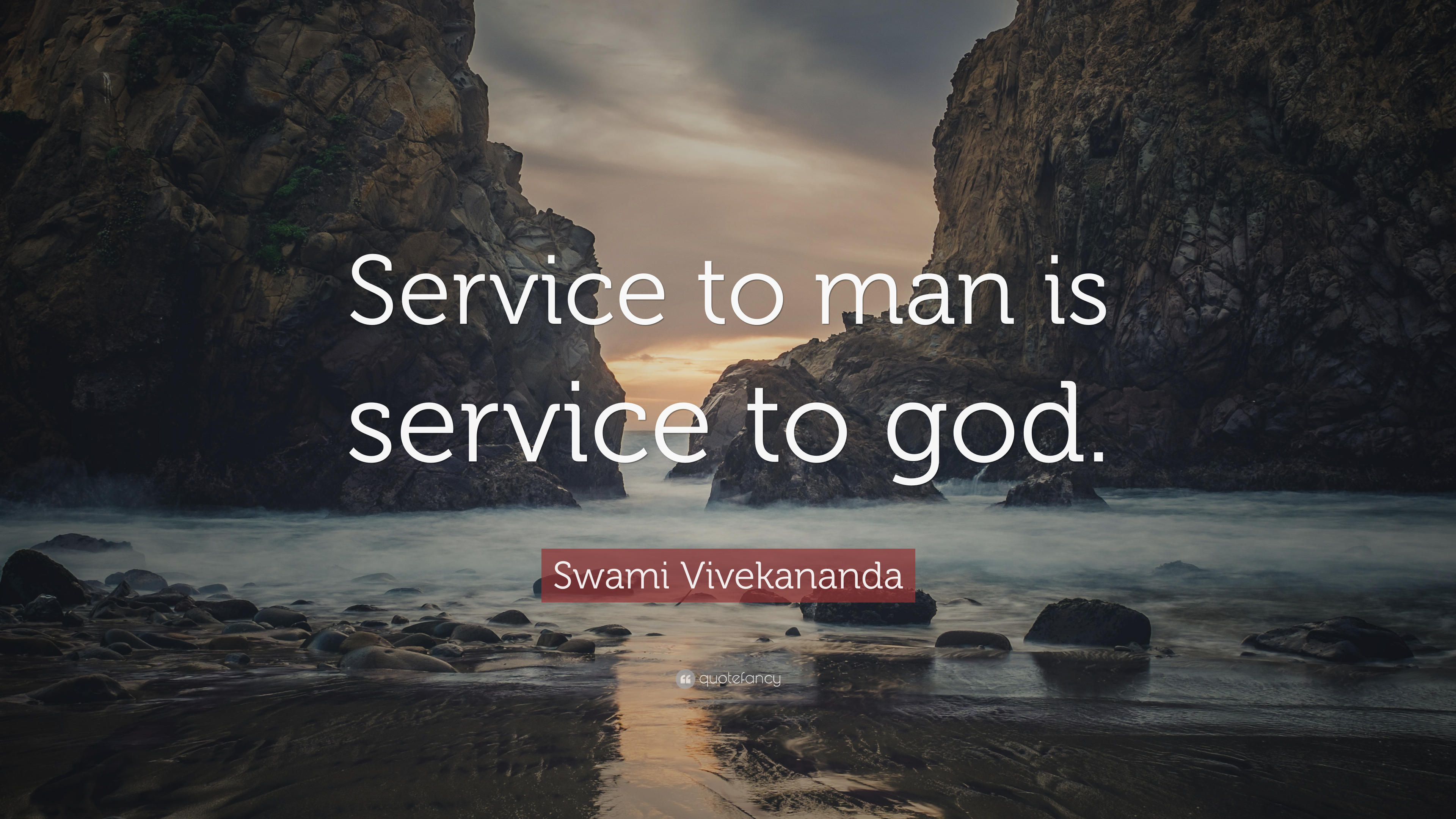 Essays on service to mankind is service to god