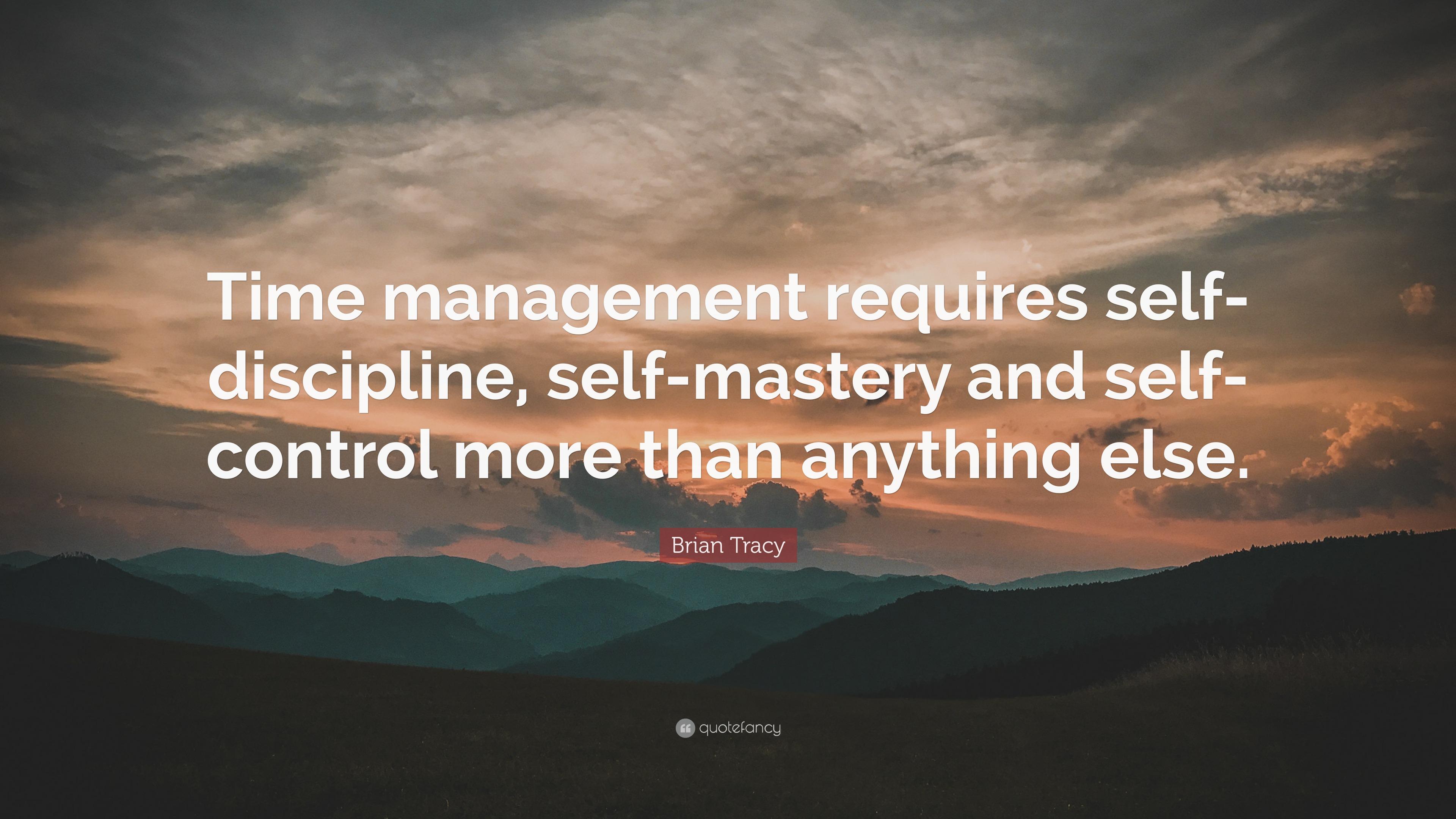Mastering self discipline