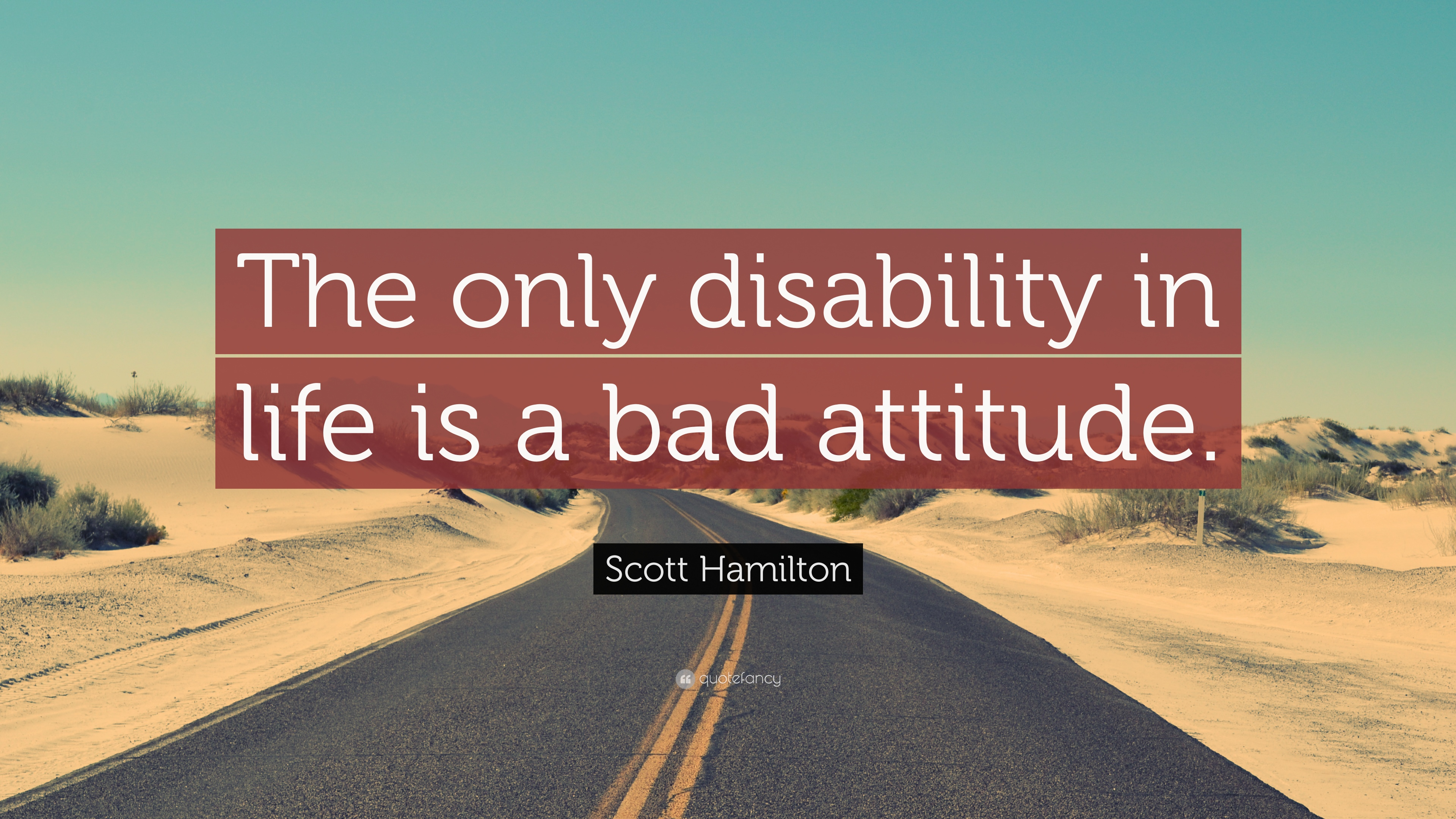 essay on bad attitude is the greatest disability