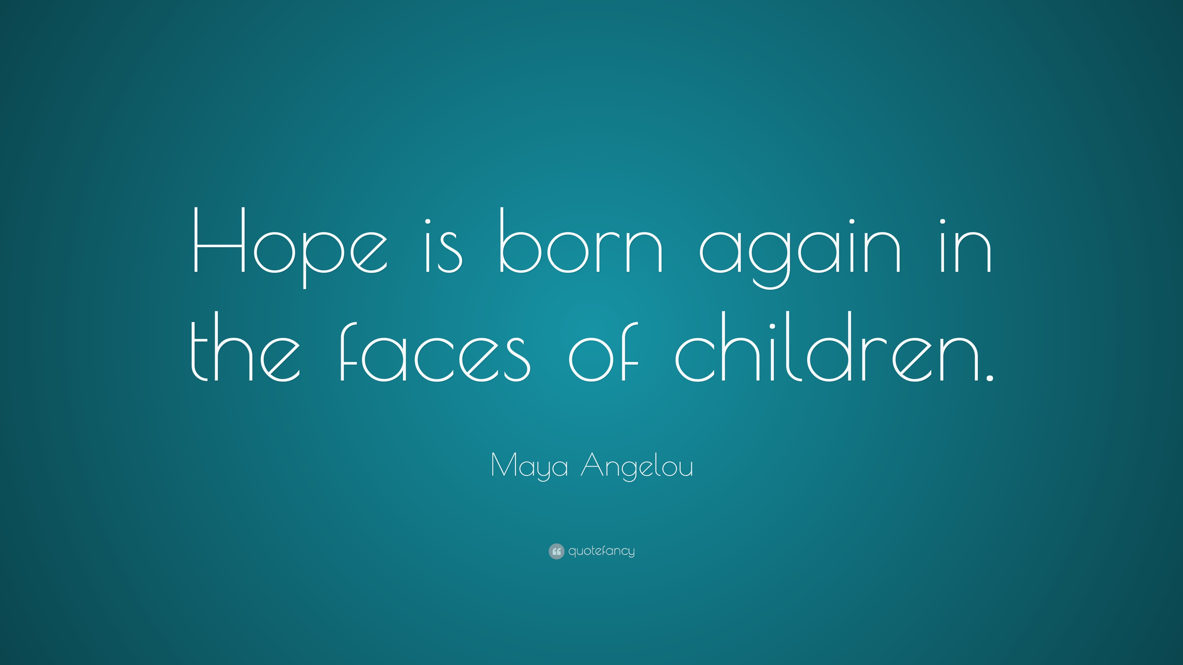maya angelou hope