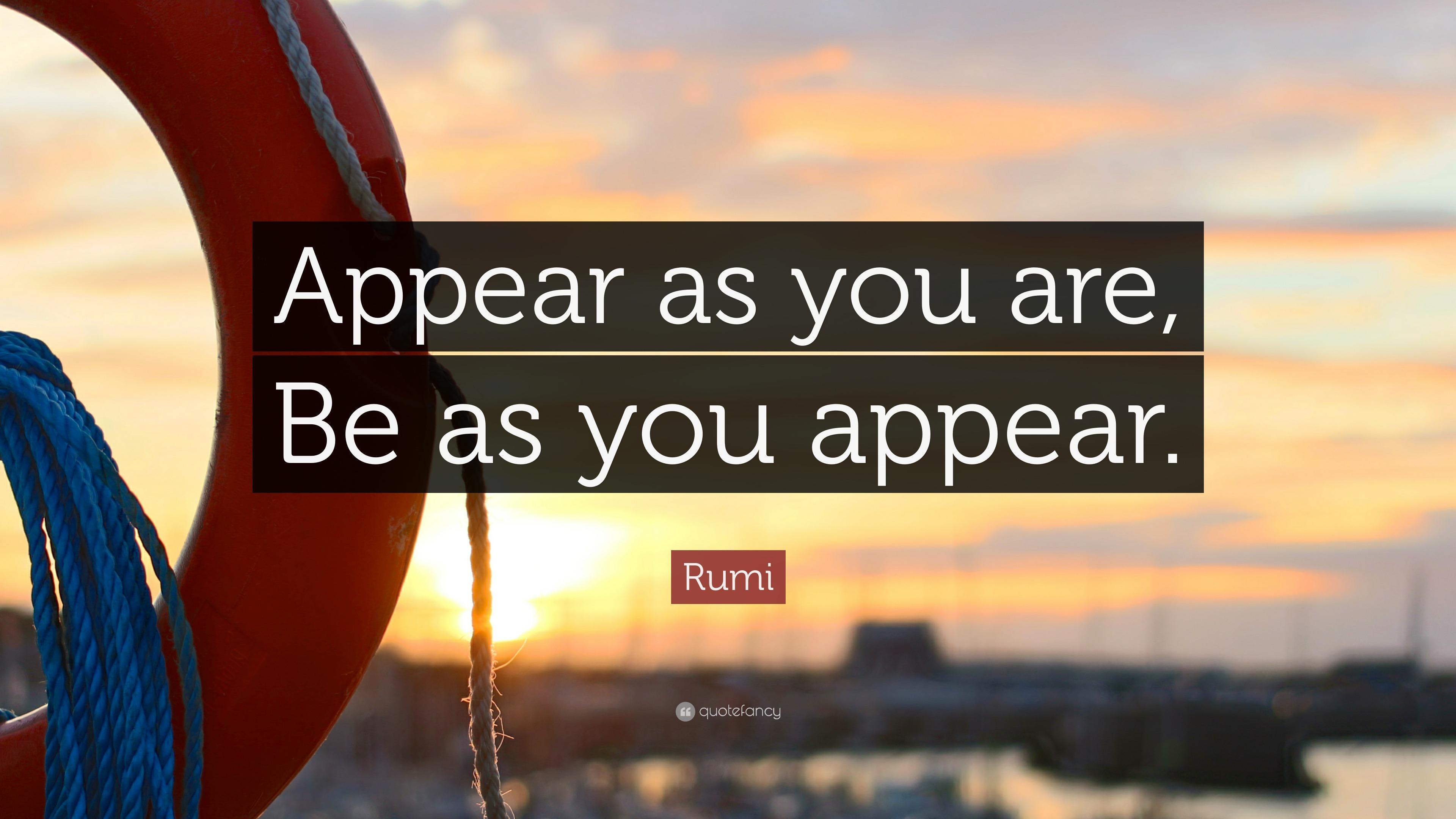 Appear Conjugation appear