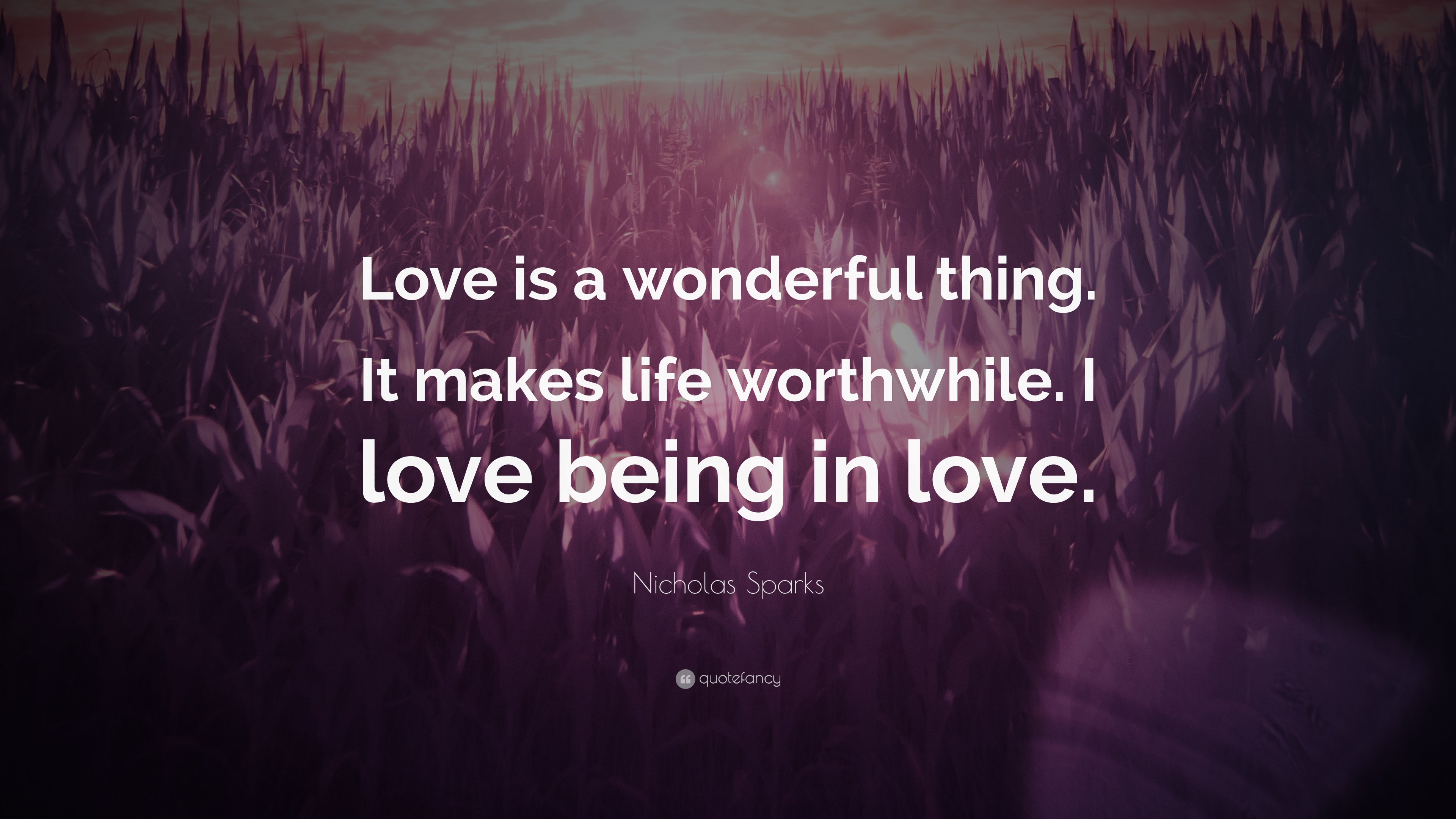 Love is a wonderful thing